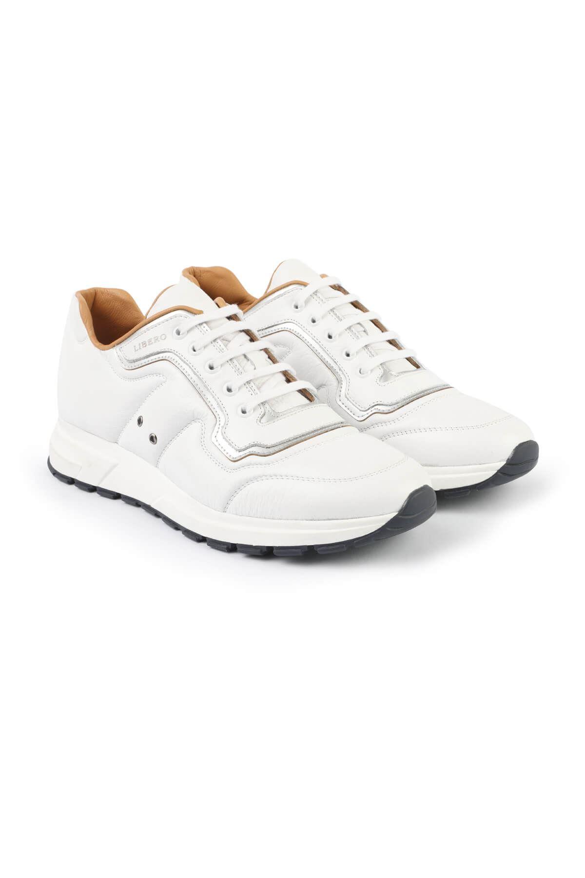 Libero 3149 White Sports Shoes