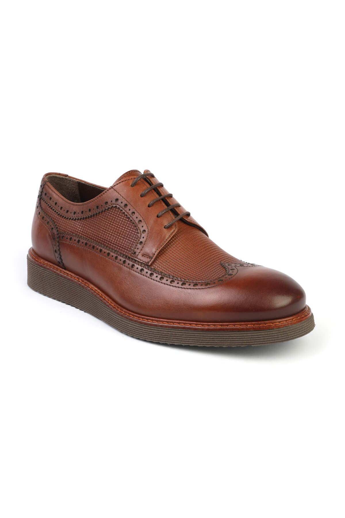 Libero C631 Tan Oxford Shoes