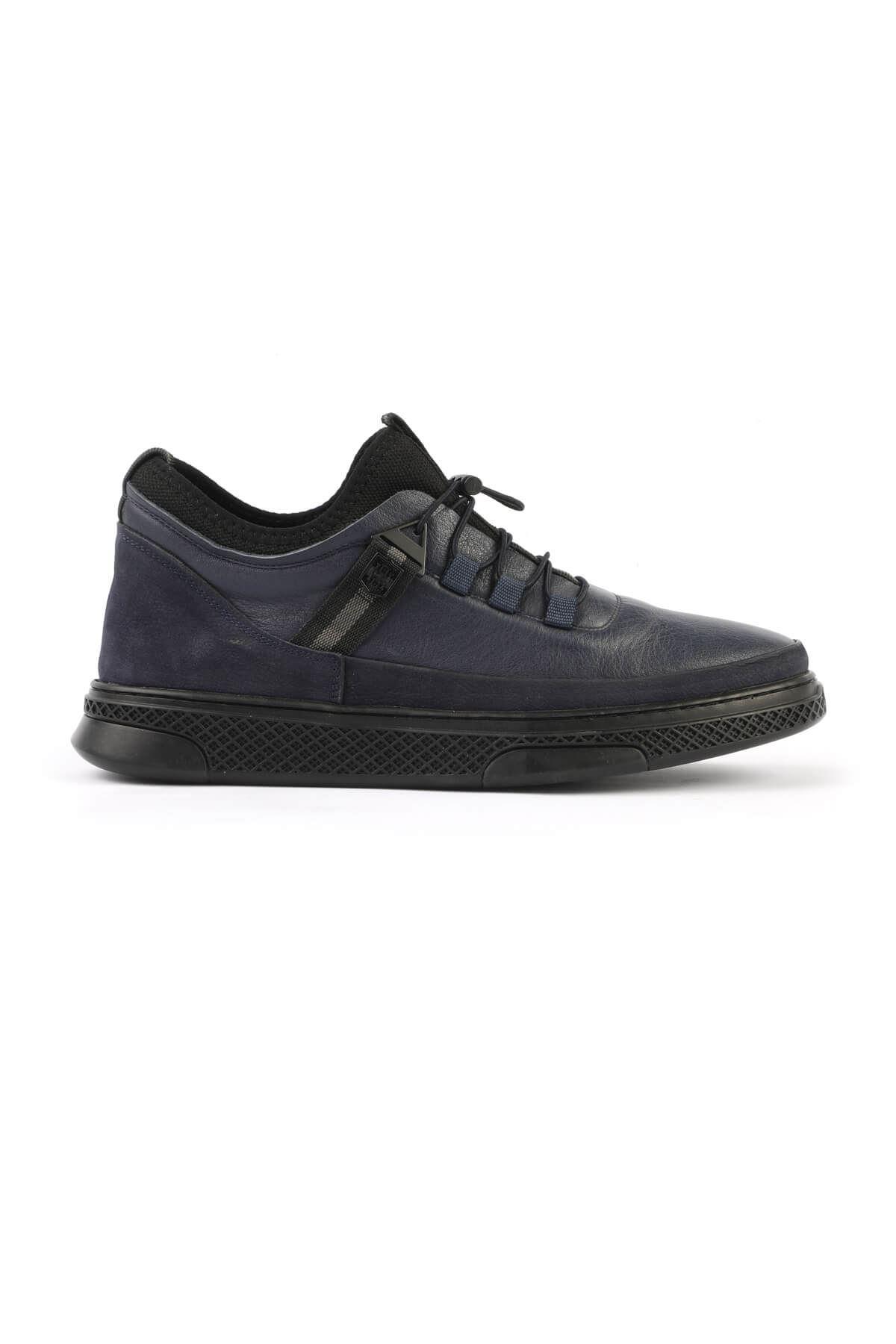 Libero 1325 Navy Blue Men's Boots