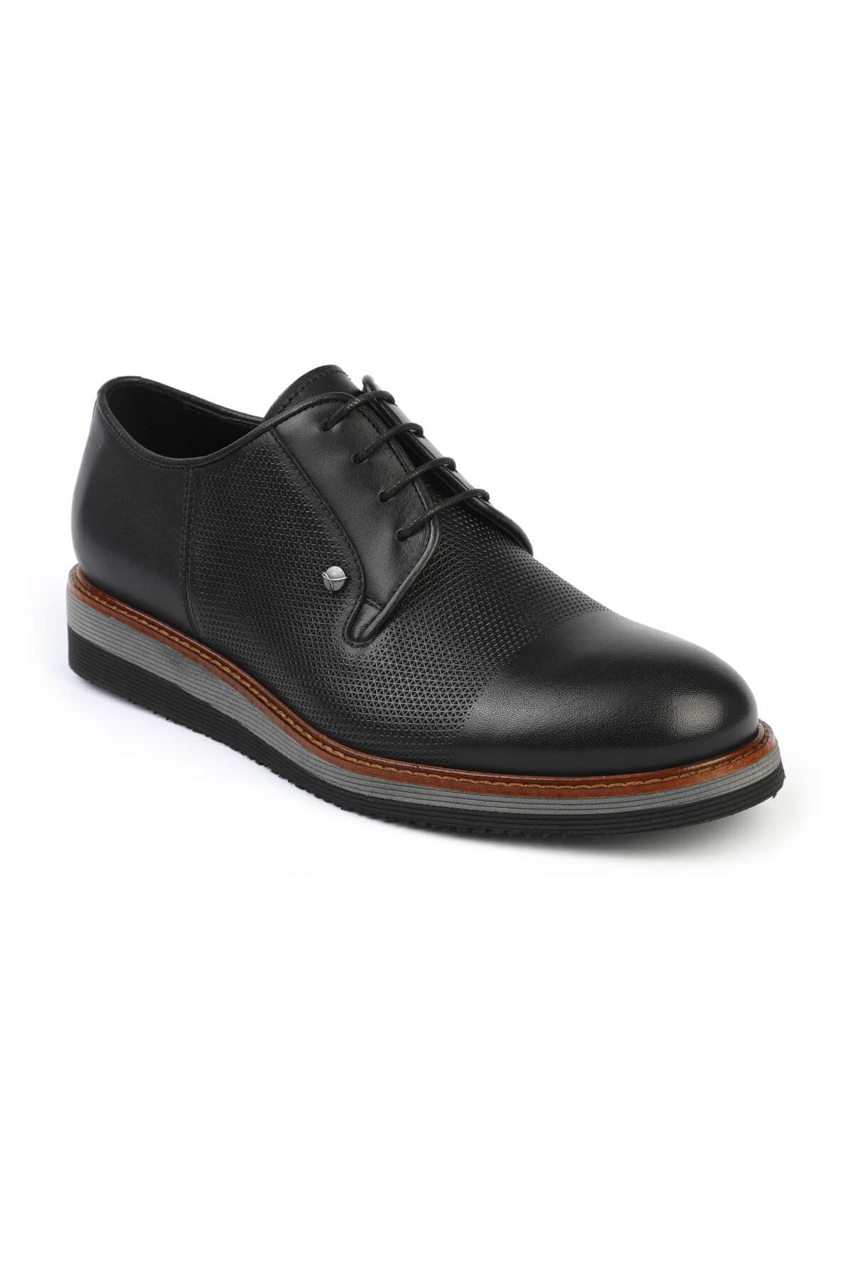 Libero 3052 Black Oxford Shoes