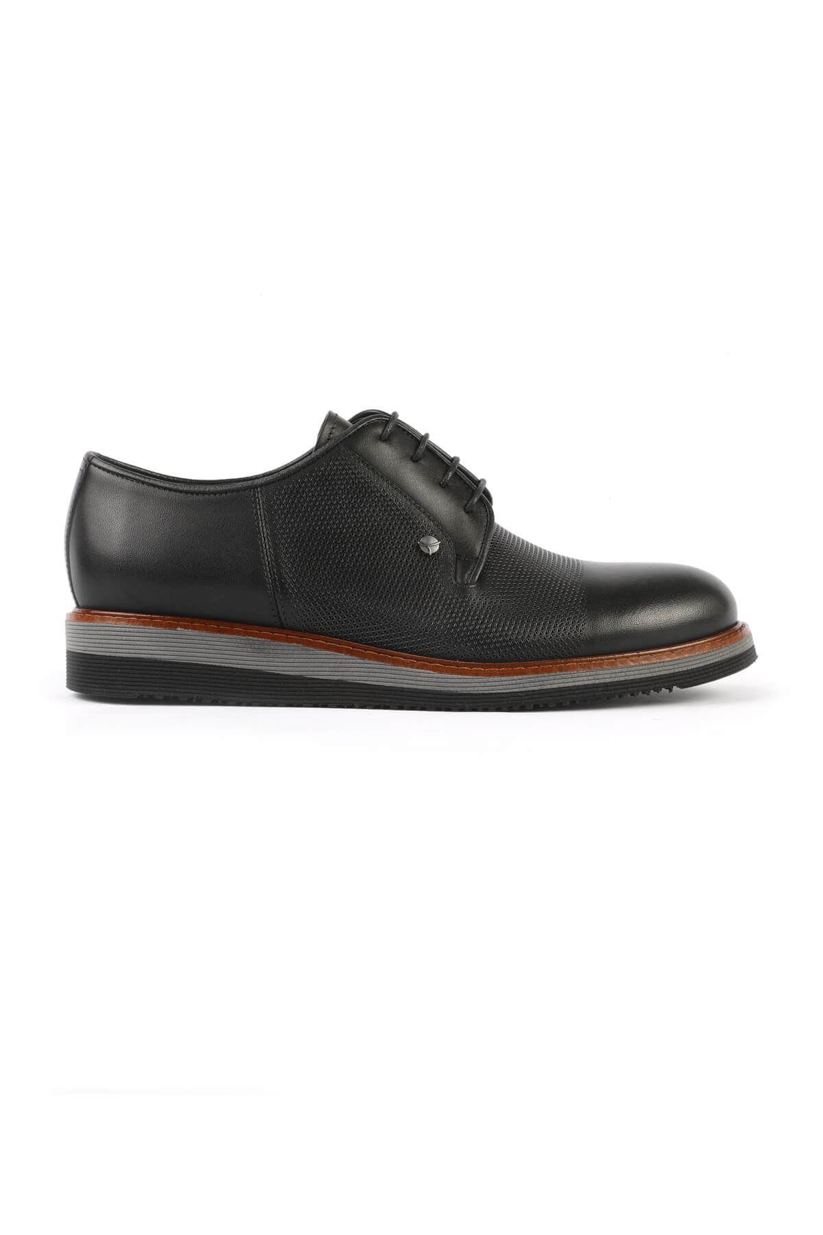 Libero 3052 Siyah Oxford Ayakkabı