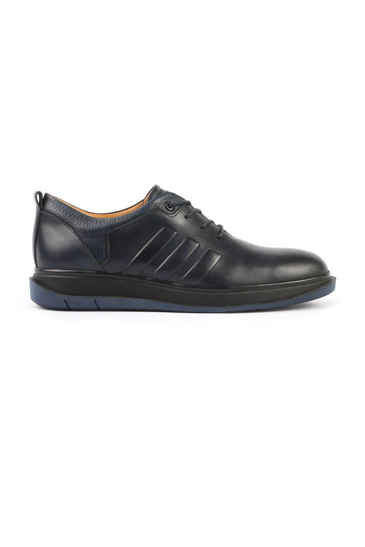 Libero 3163 Navy Blue Casual Shoes