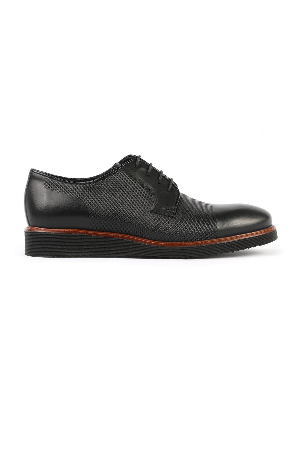 Libero C252 Siyah Oxford Ayakkabı