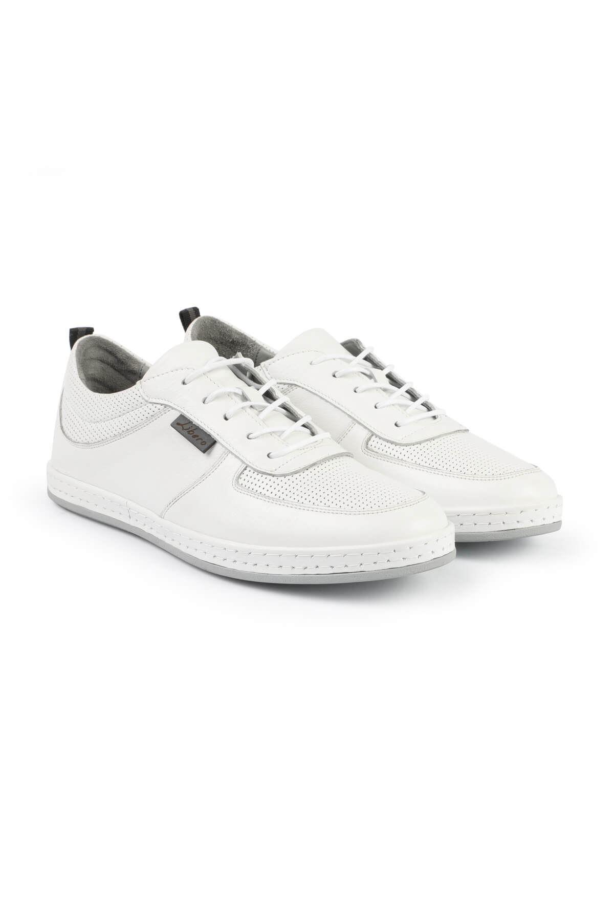 Libero 3063 White Sport Shoes