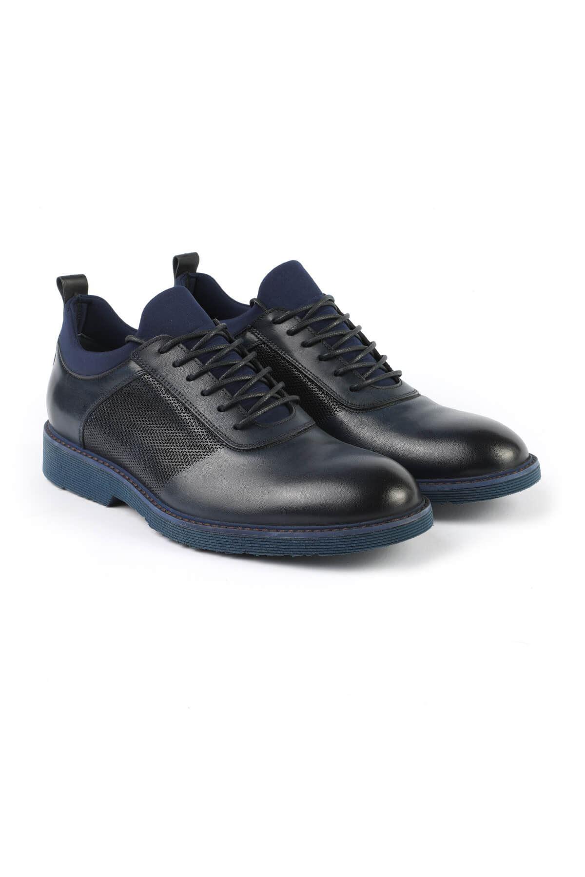 Libero 2999 Navy Blue Casual Shoes