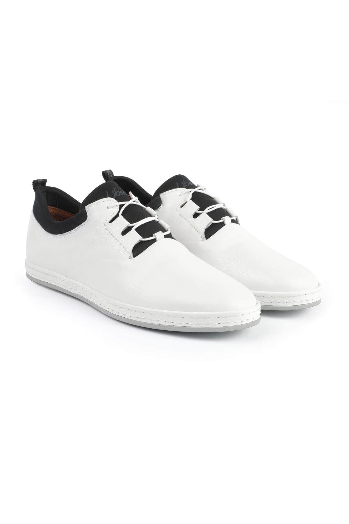 Libero 2979 White Casual Shoes