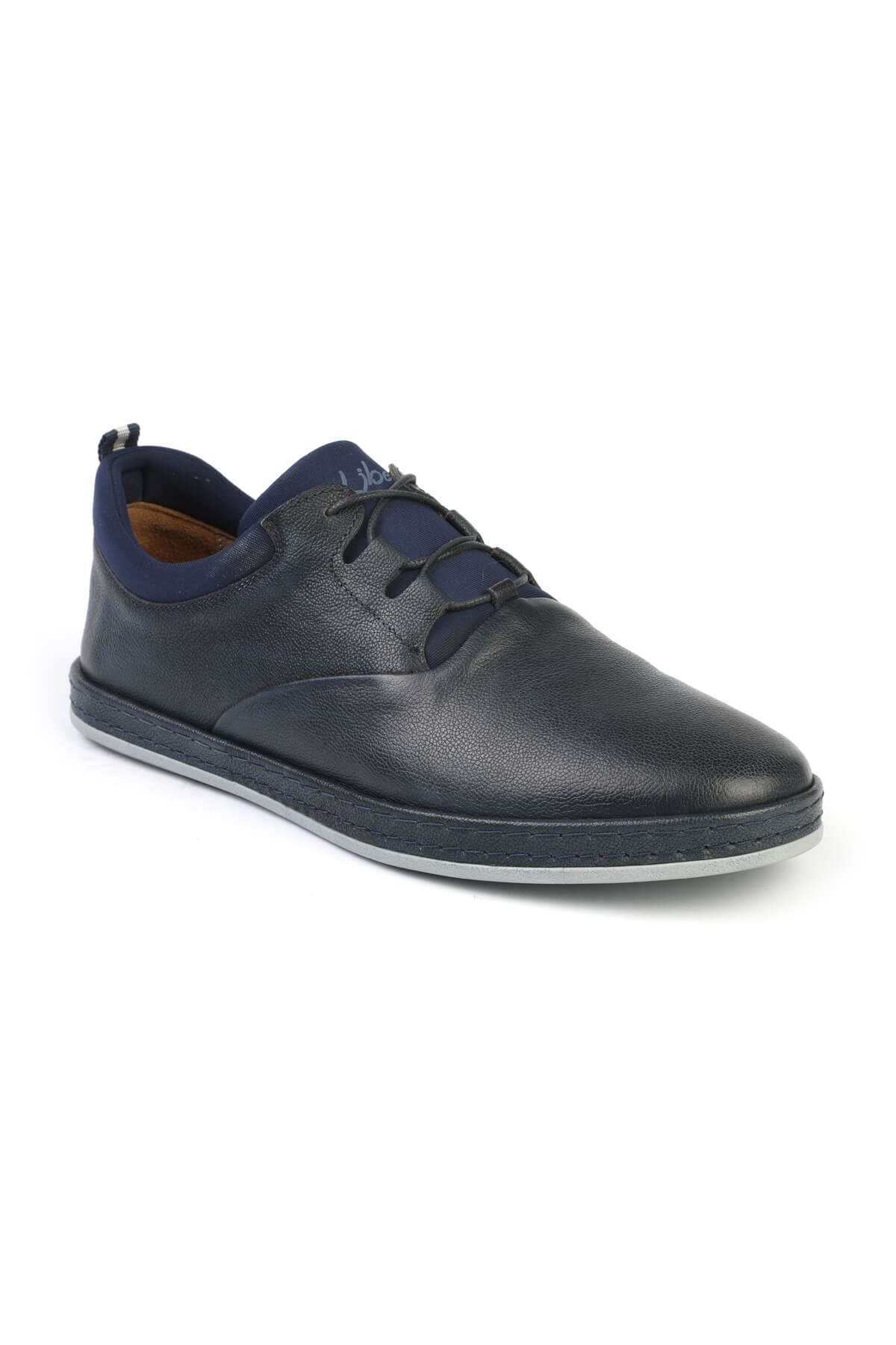 Libero 2979 Navy Blue Casual Shoes