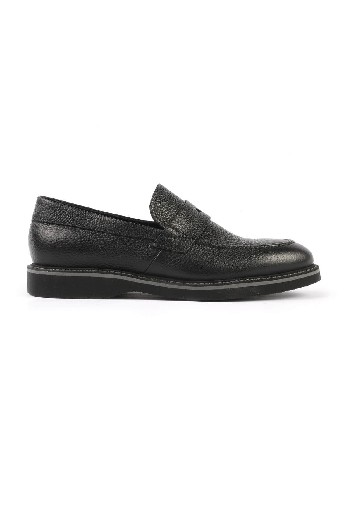 Libero 2695 Black Loafer Shoes