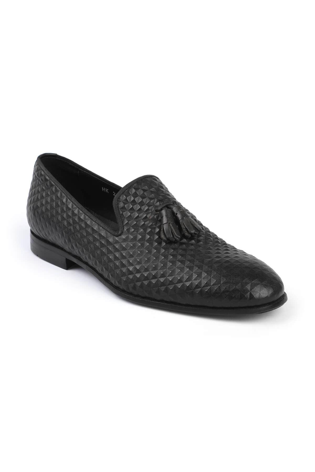 Libero 2830 Black Loafer Shoes