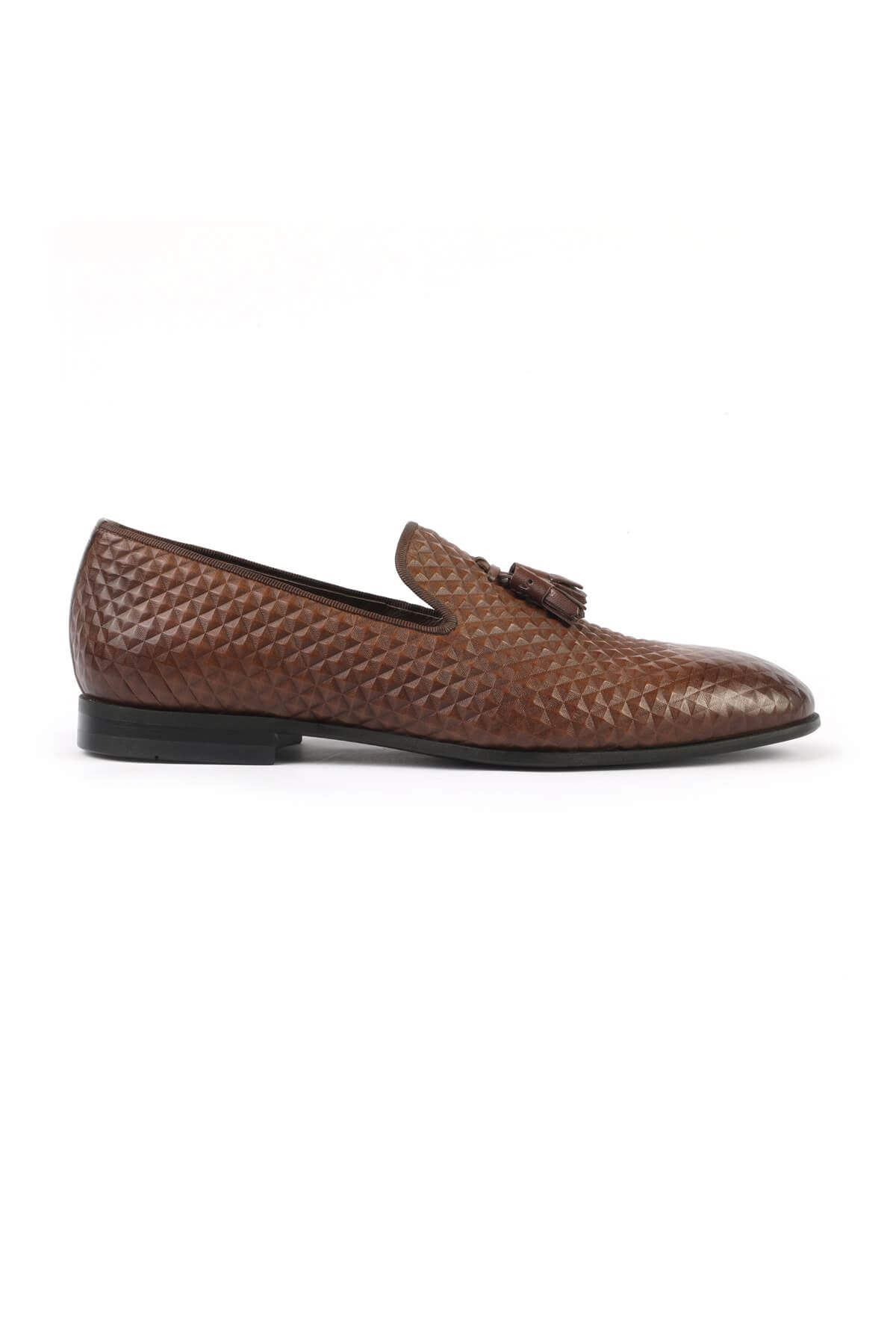 Libero 2830 Brown Loafer Shoes