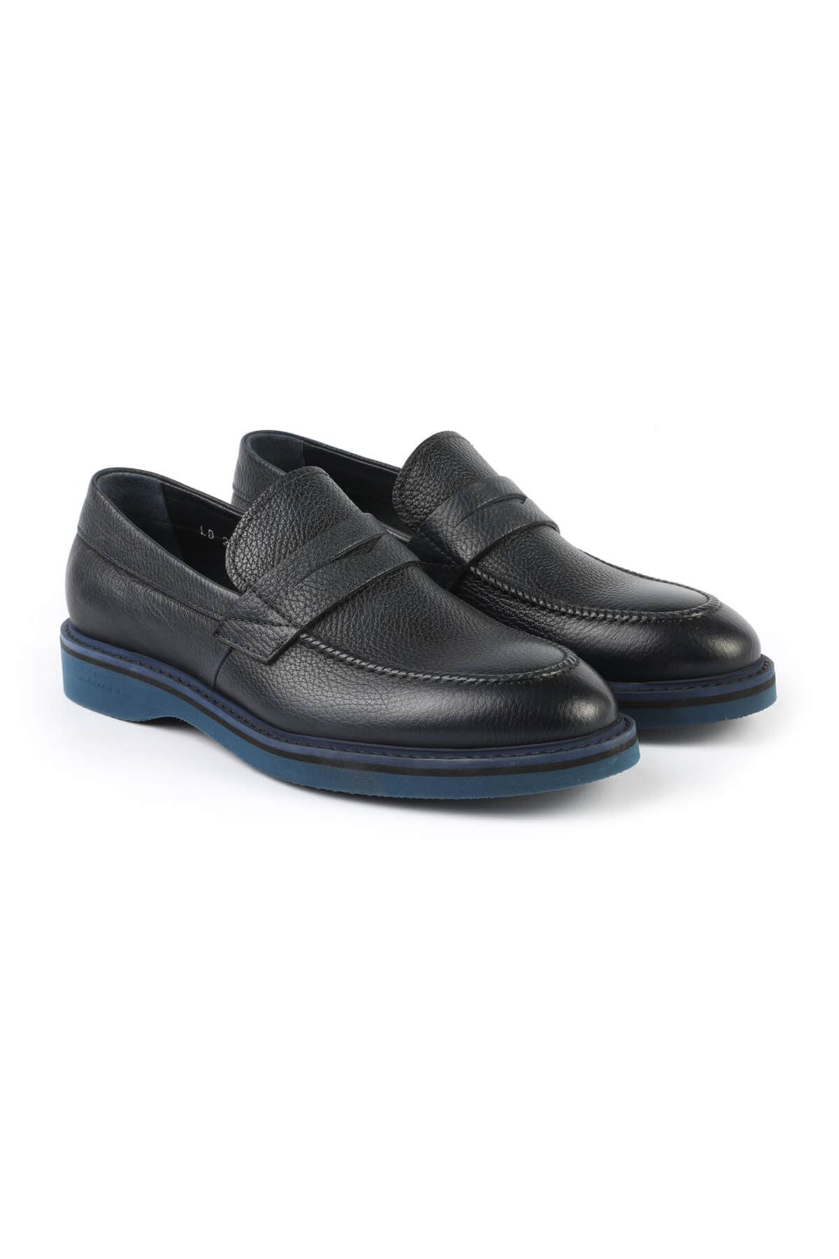 Libero 2695 Navy Blue Loafer Shoes