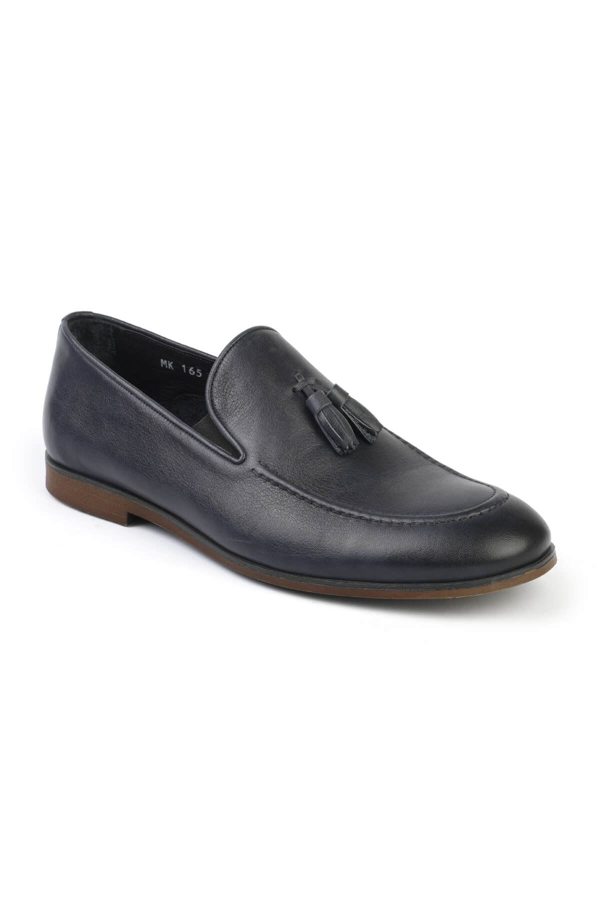 Libero C165 Navy Blue Loafer Shoes