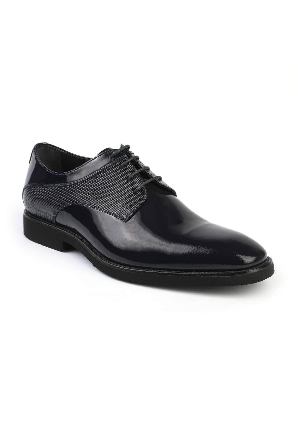 Libero C688 Navy Blue Classic Shoes