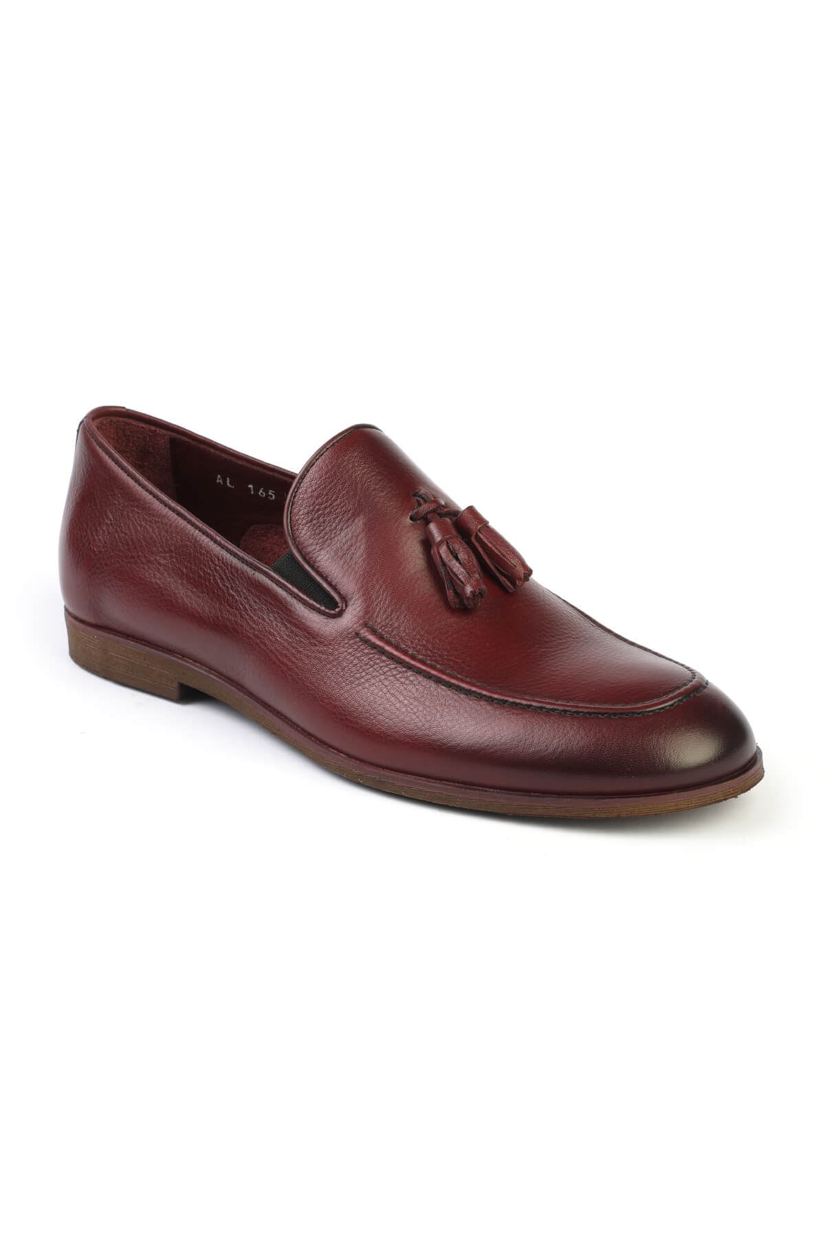 Libero C165 Claret Red Loafer Shoes