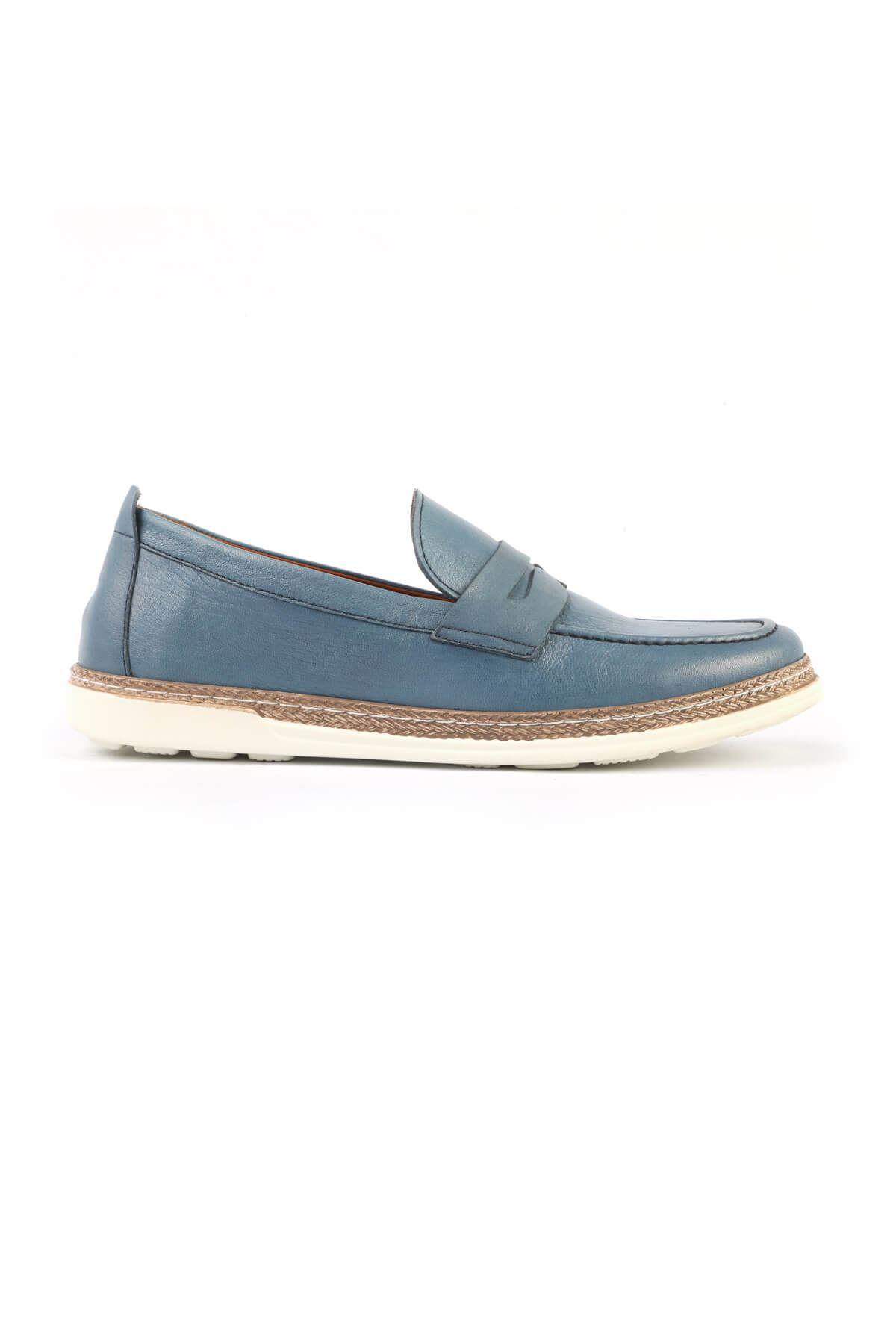 Libero C825 Mavi Loafer Ayakkabı