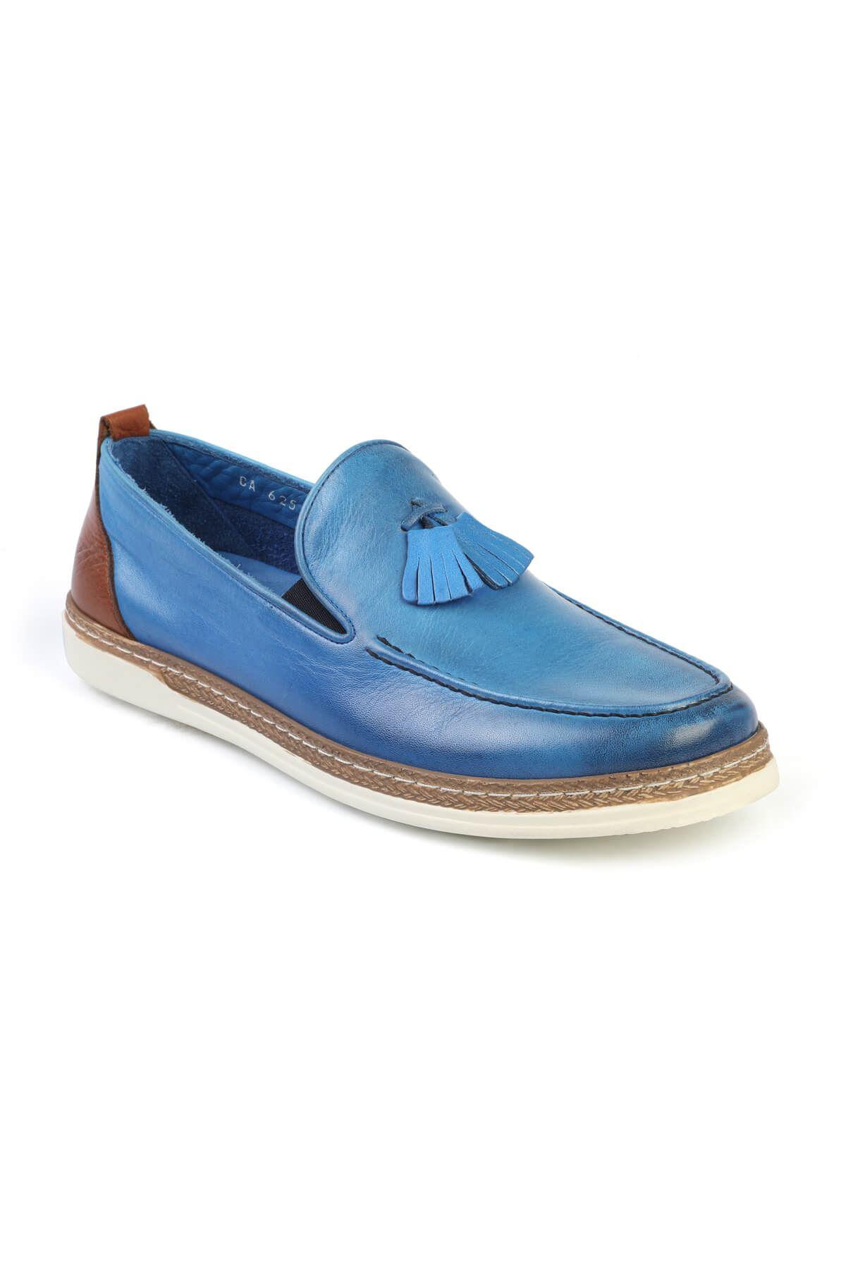 Libero C625 Saxe Blue Loafer Shoes