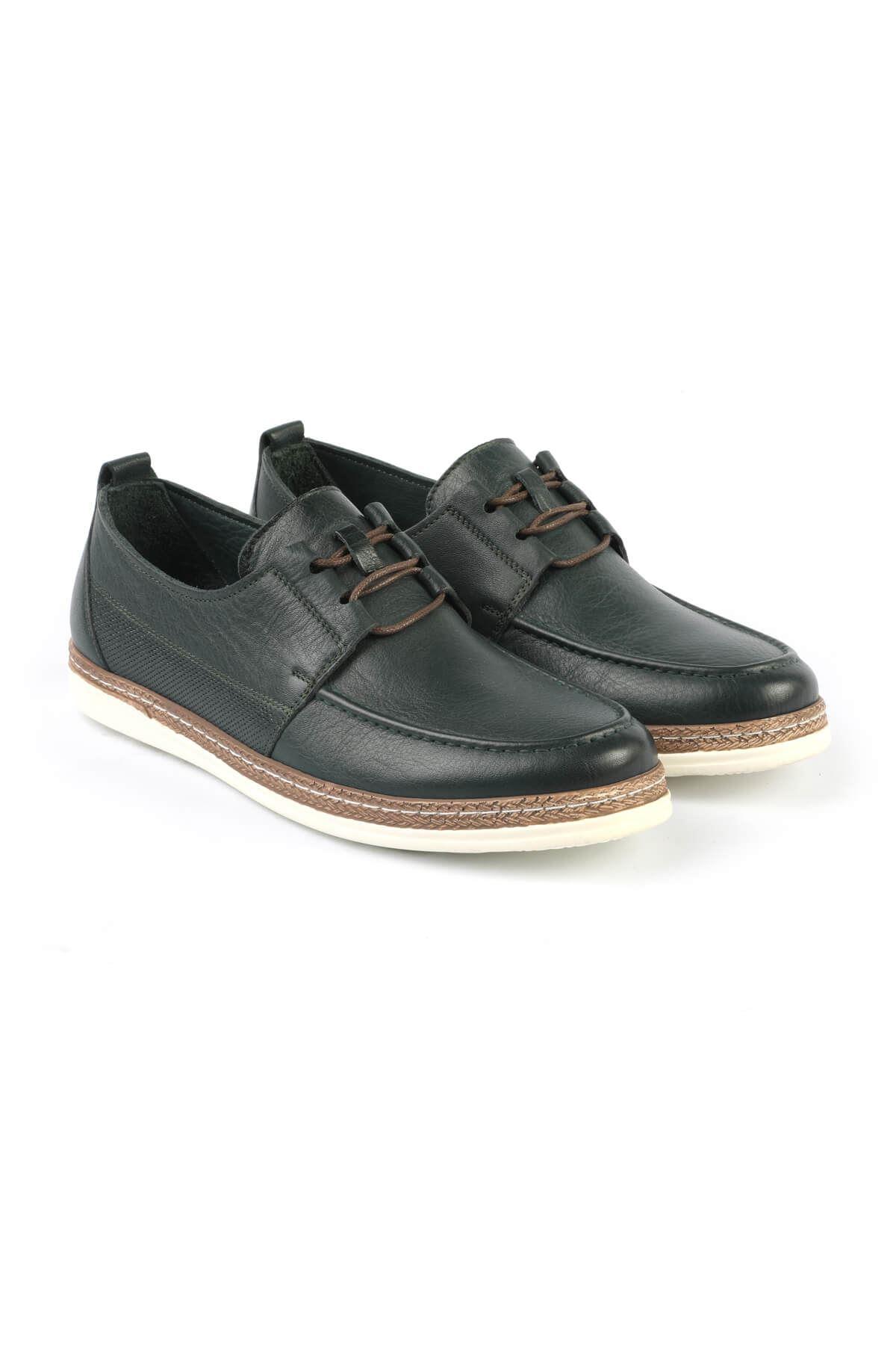 Libero C626 Green Casual Shoes