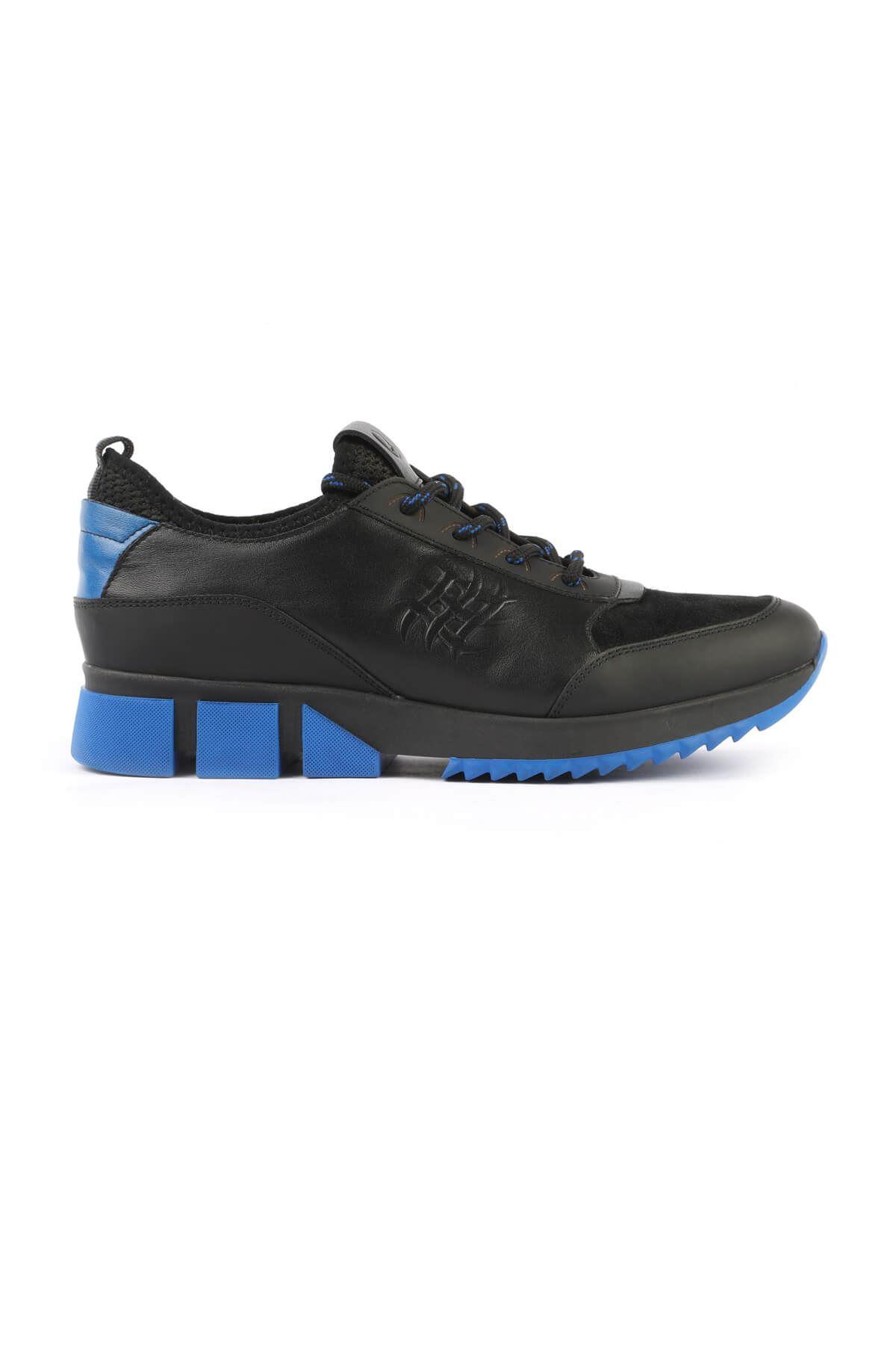 Libero 3130 Black Blue Sport Shoes