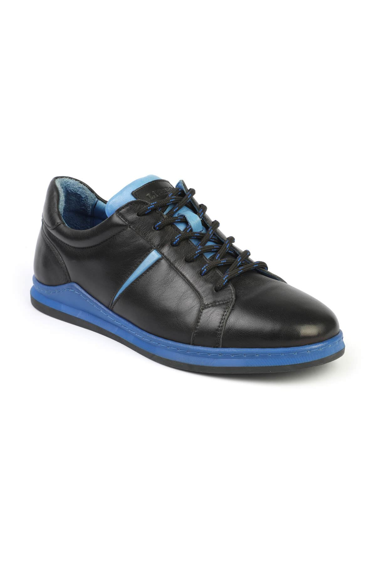 Libero 3196 Black Blue Sneaker Shoes