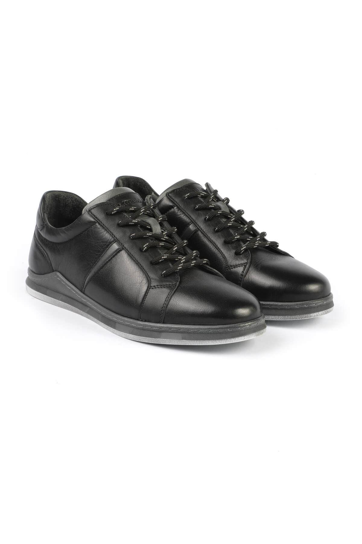 Libero 3196 Siyah Gri Sneaker Ayakkabı