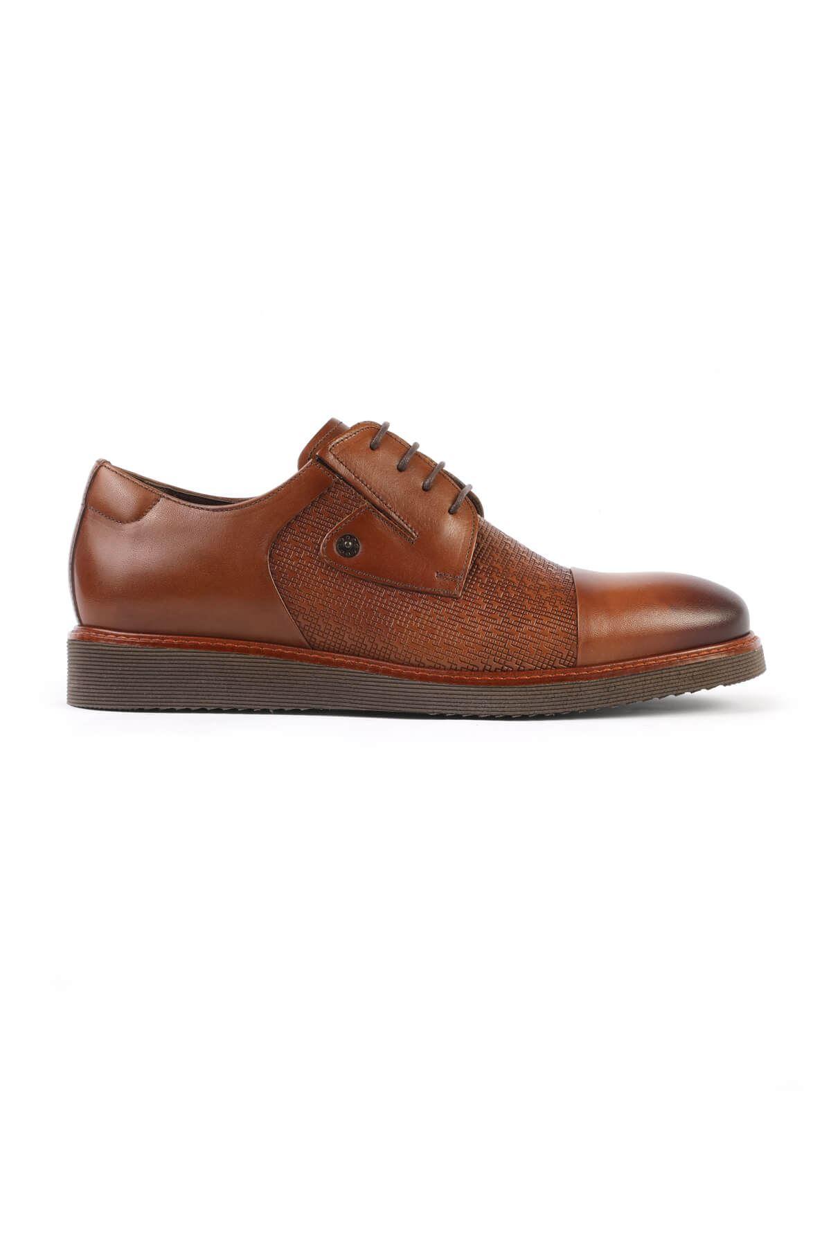 Libero C801 Tan Oxford Shoes