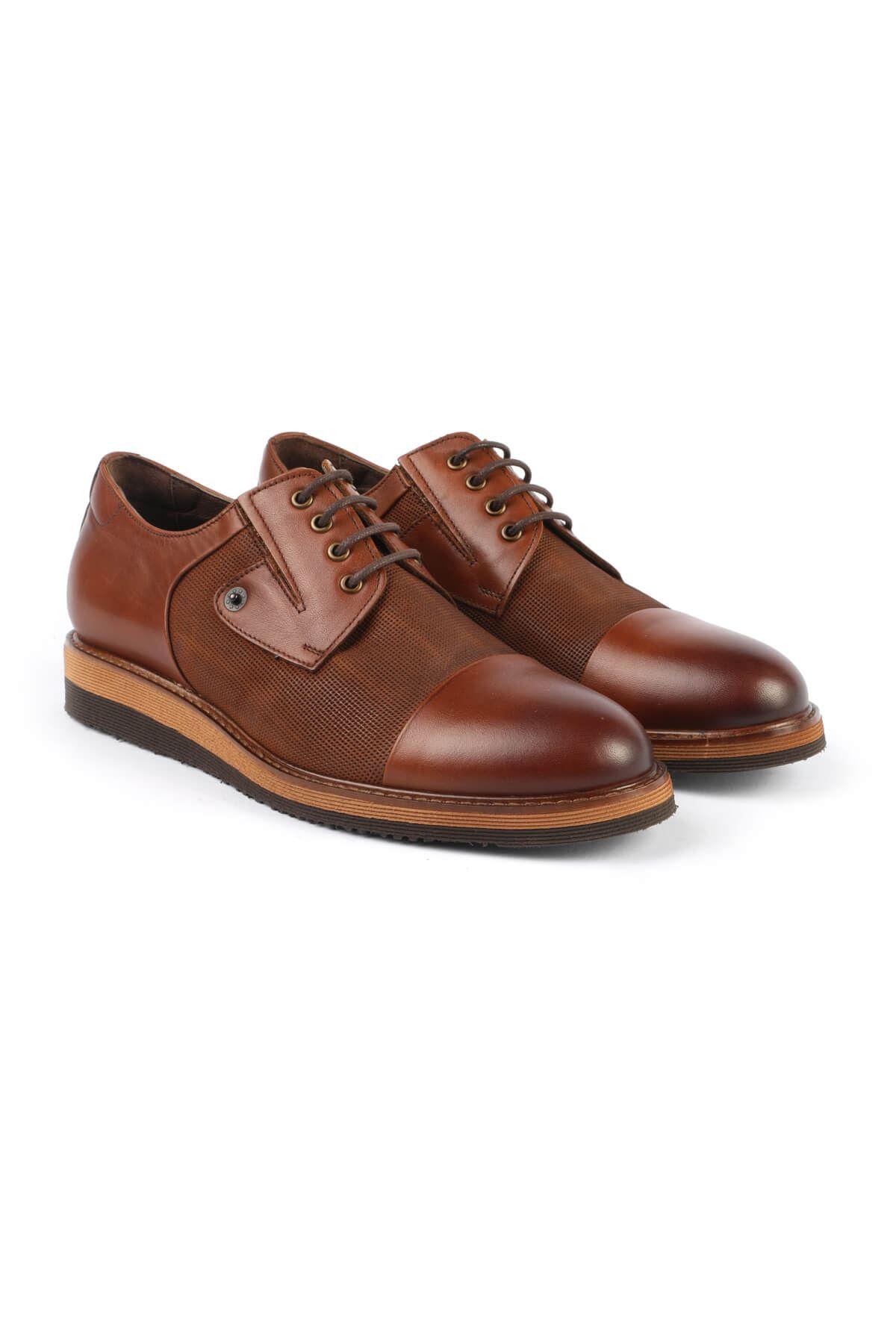 Libero 2641 Tan Oxford Shoes