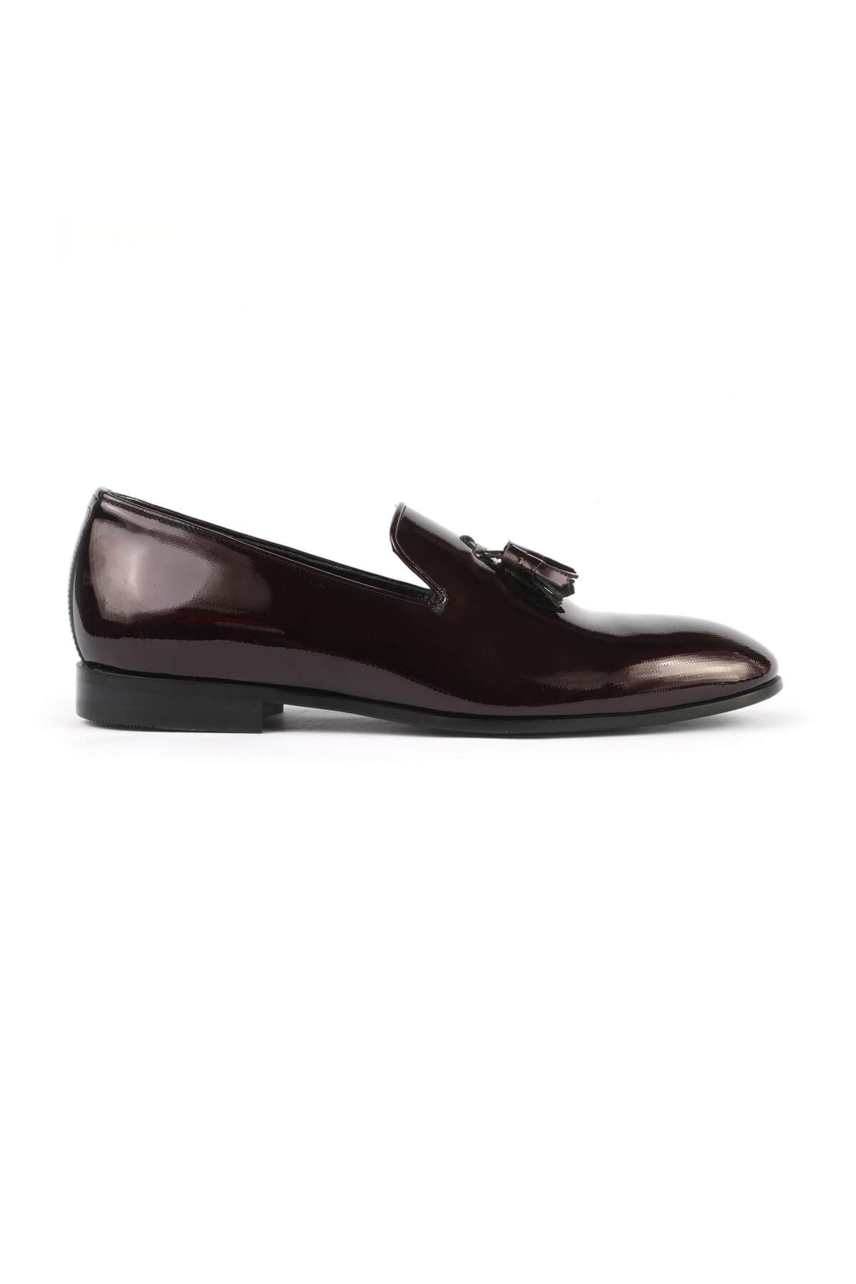 Libero 2393 Bordo Klasik Ayakkabı