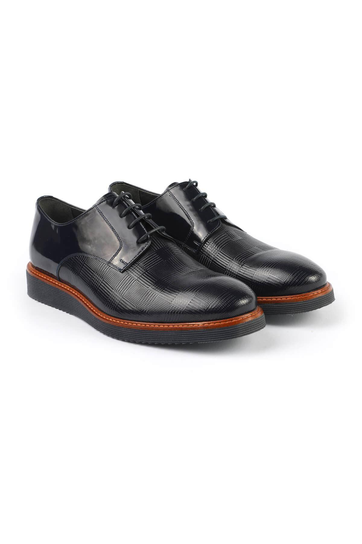 Libero C494 Navy Blue Casual Shoes