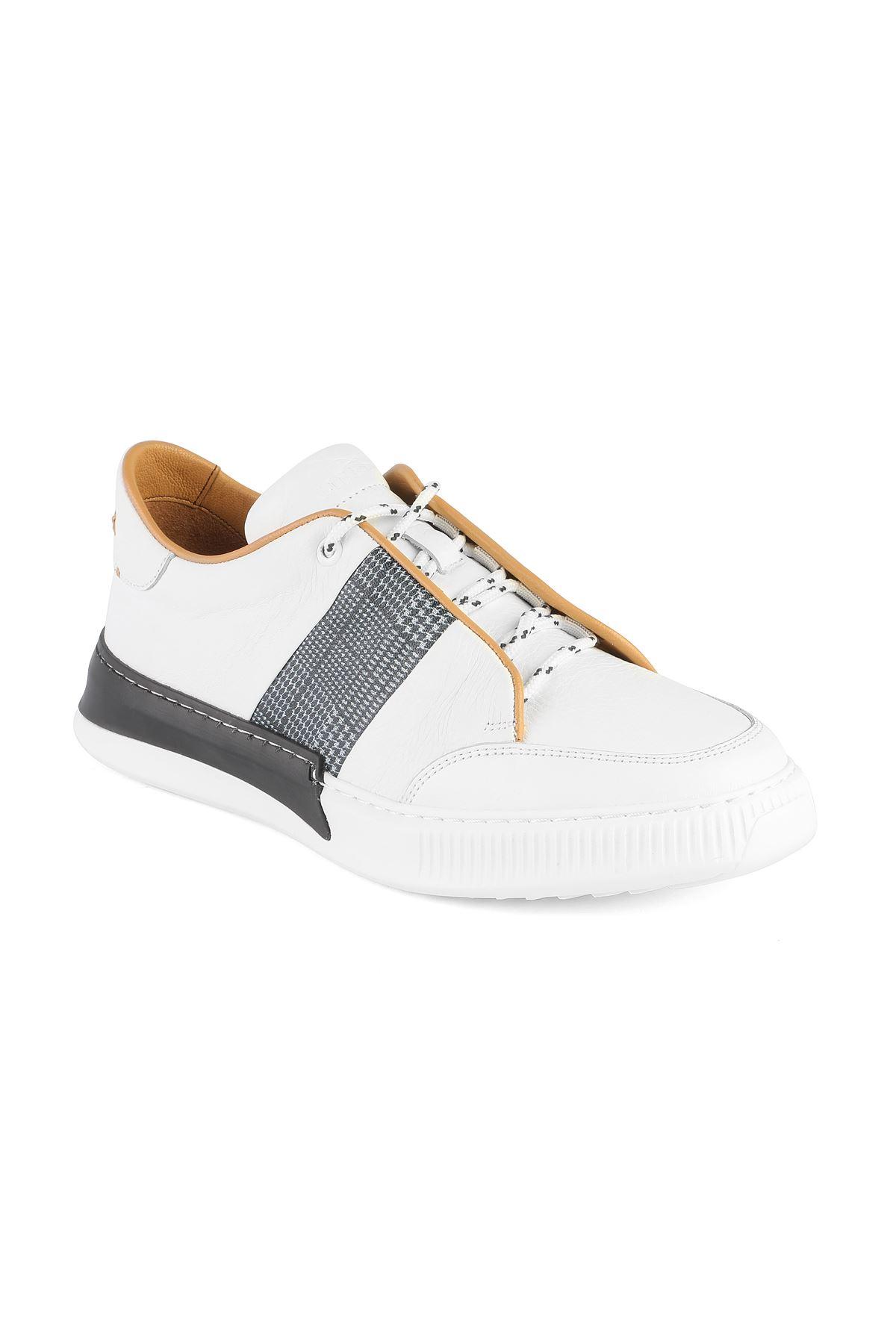 Libero 3349 White Casual Shoes
