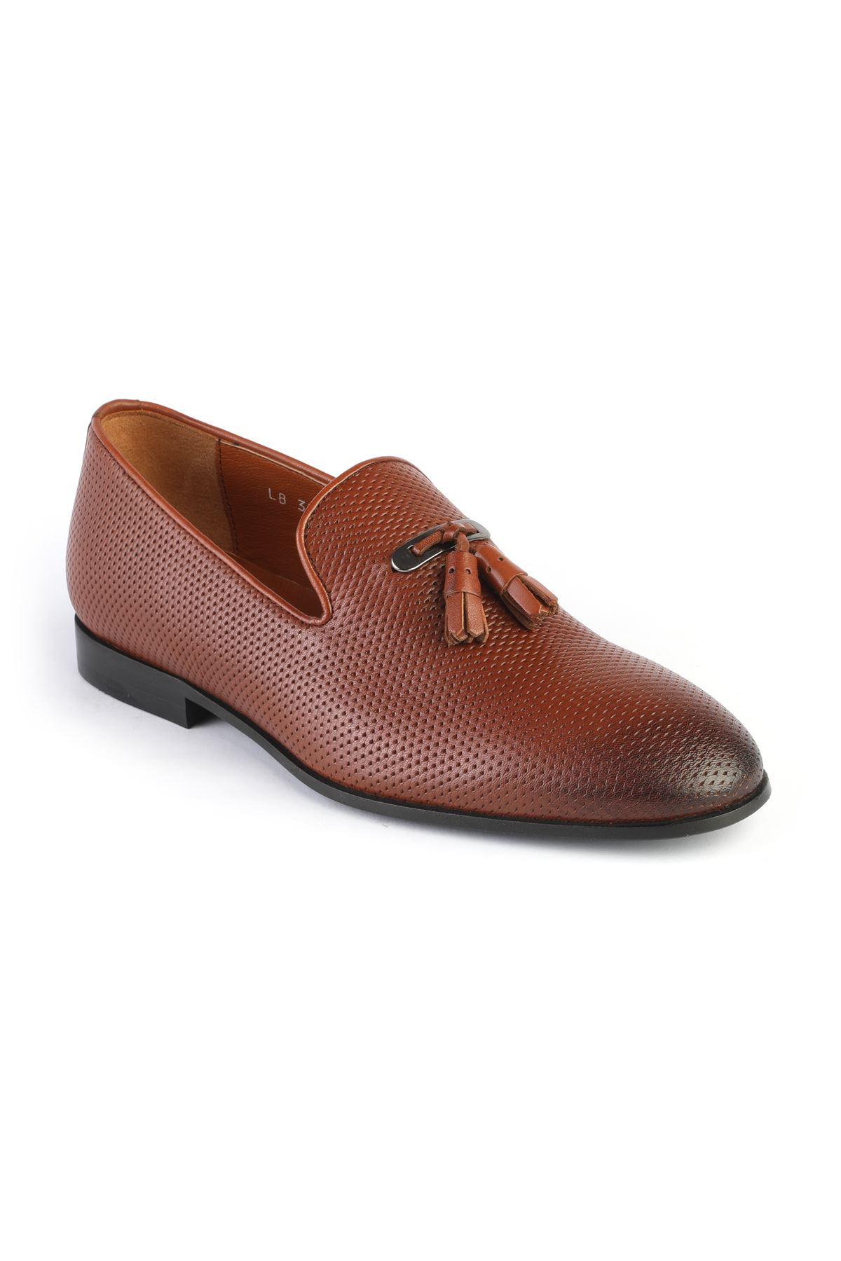 Libero 3324 Taba Loafer Ayakkabı