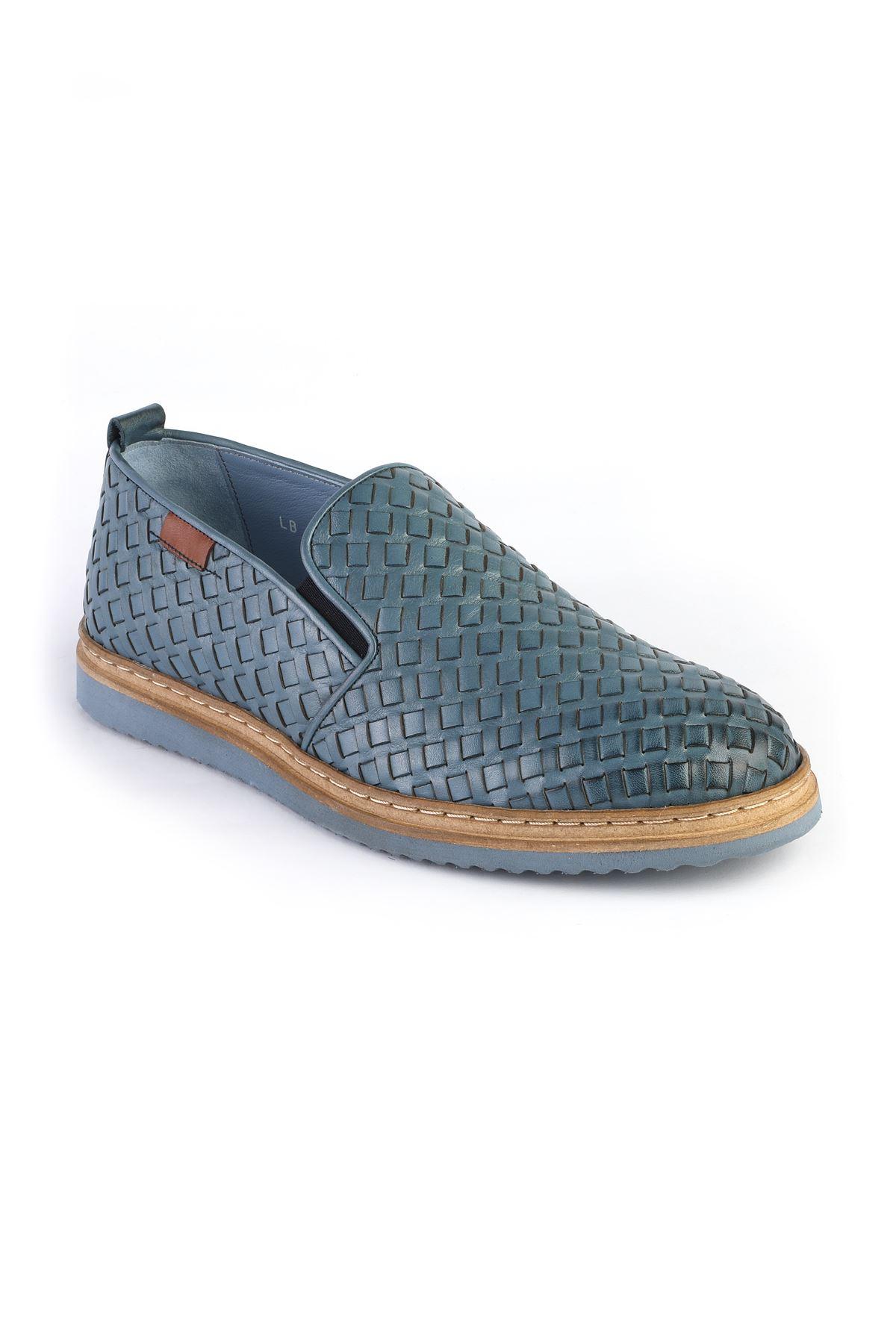 Libero 3295 Mavi Loafer Ayakkabı