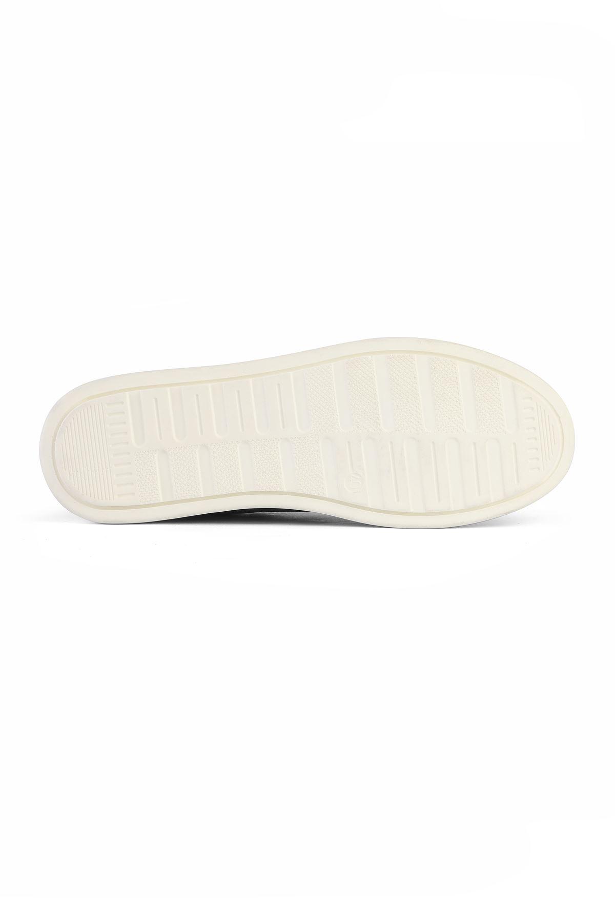 Libero 3308 Navy Blue Casual Shoes