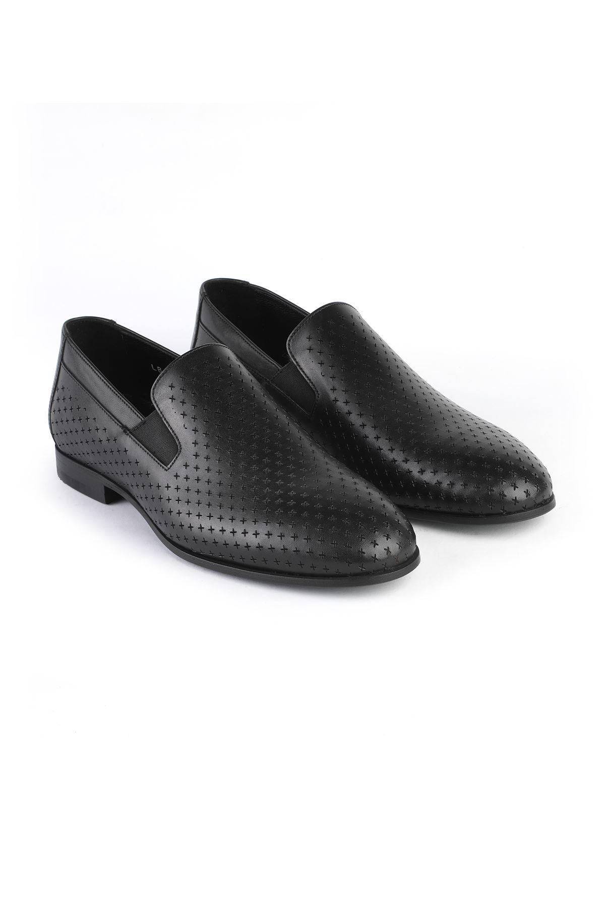 Libero 3266 Black Loafer Shoes