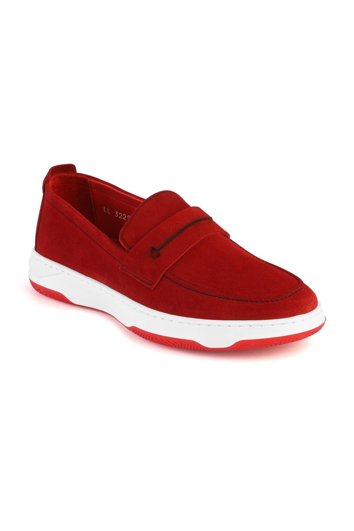 Libero 3229 Kırmızı Loafer Ayakkabı