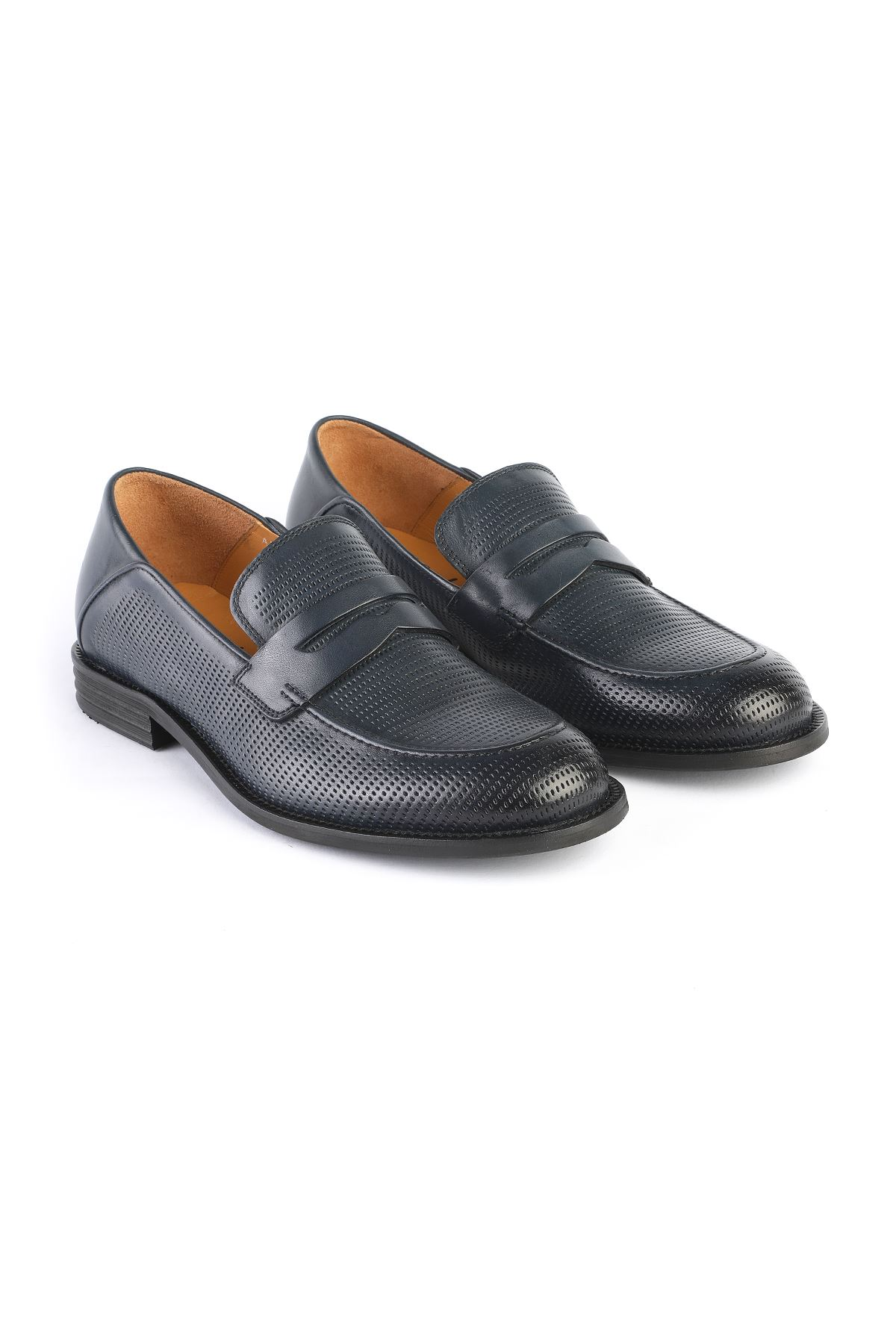 Libero 3211 Navy Blue Classic Shoes
