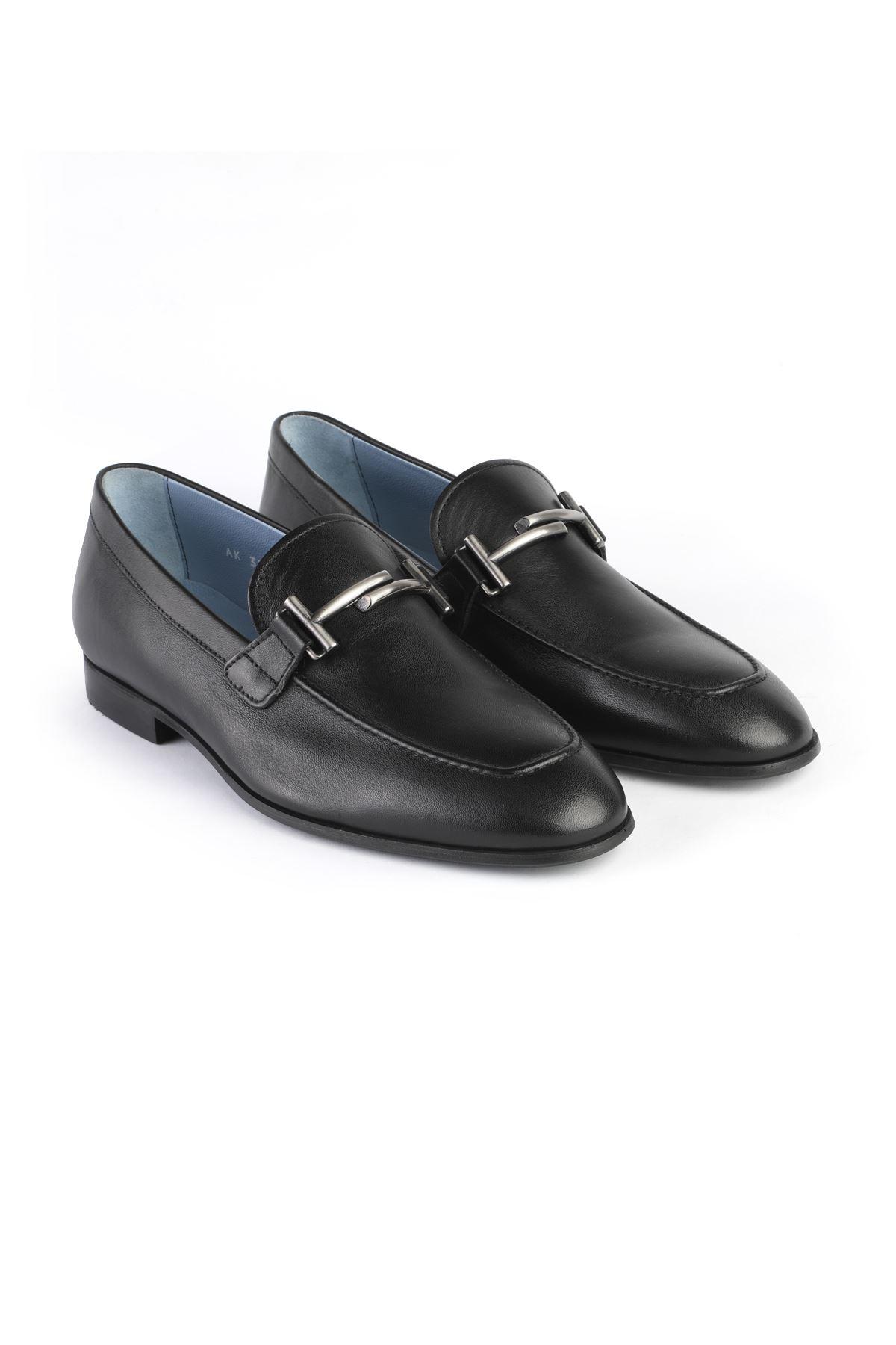 Libero 3270 Siyah Loafer Ayakkabı
