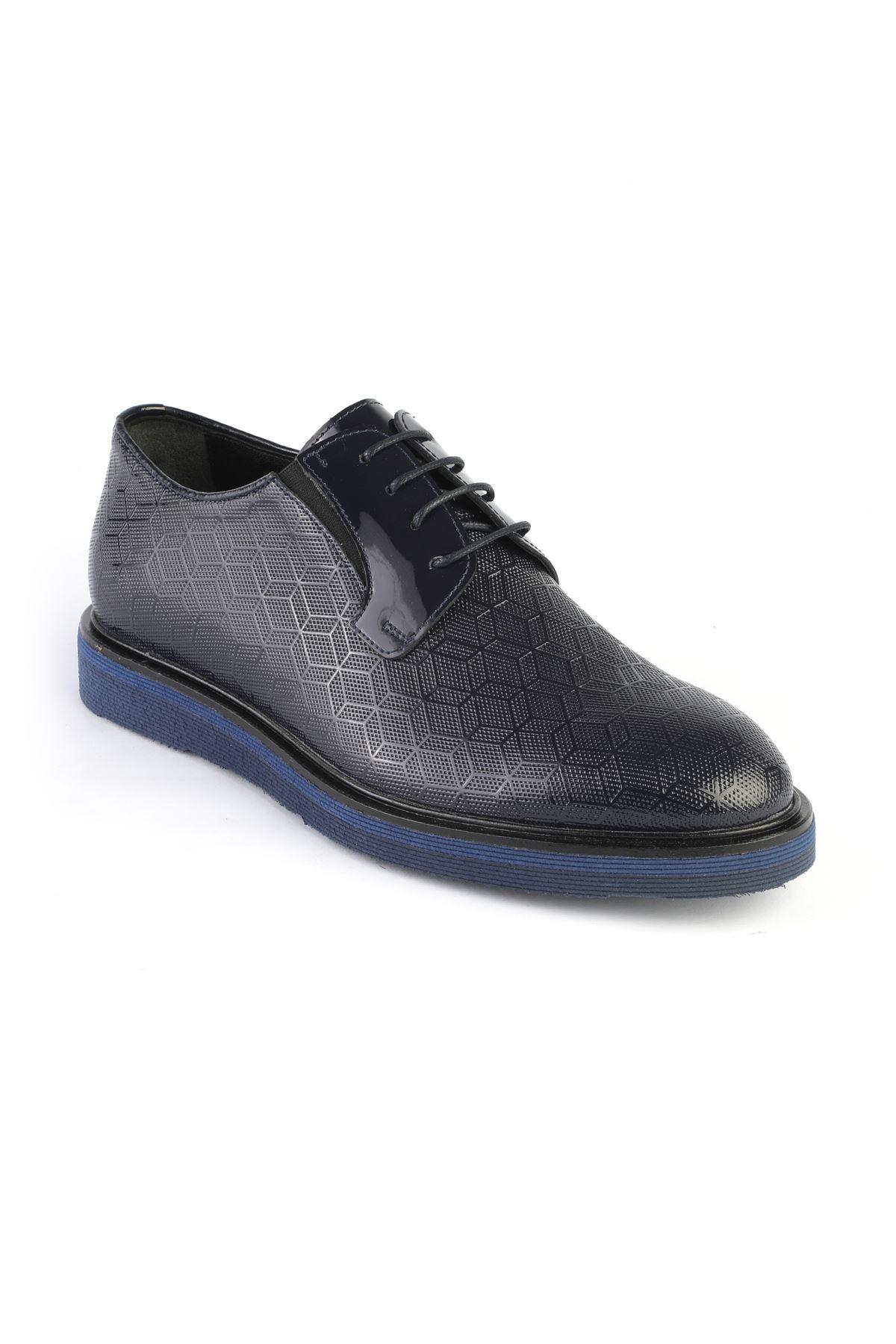 Libero 3234 Navy Blue Oxford Shoes