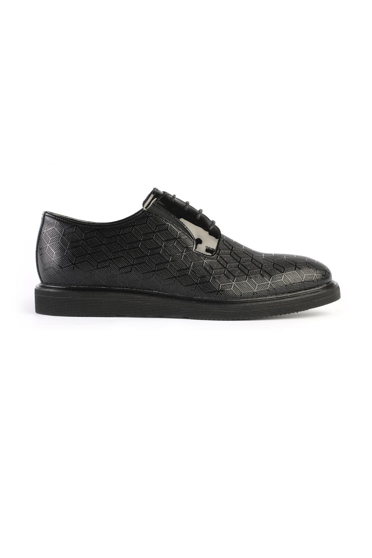 Libero 3234 Black Oxford Shoes