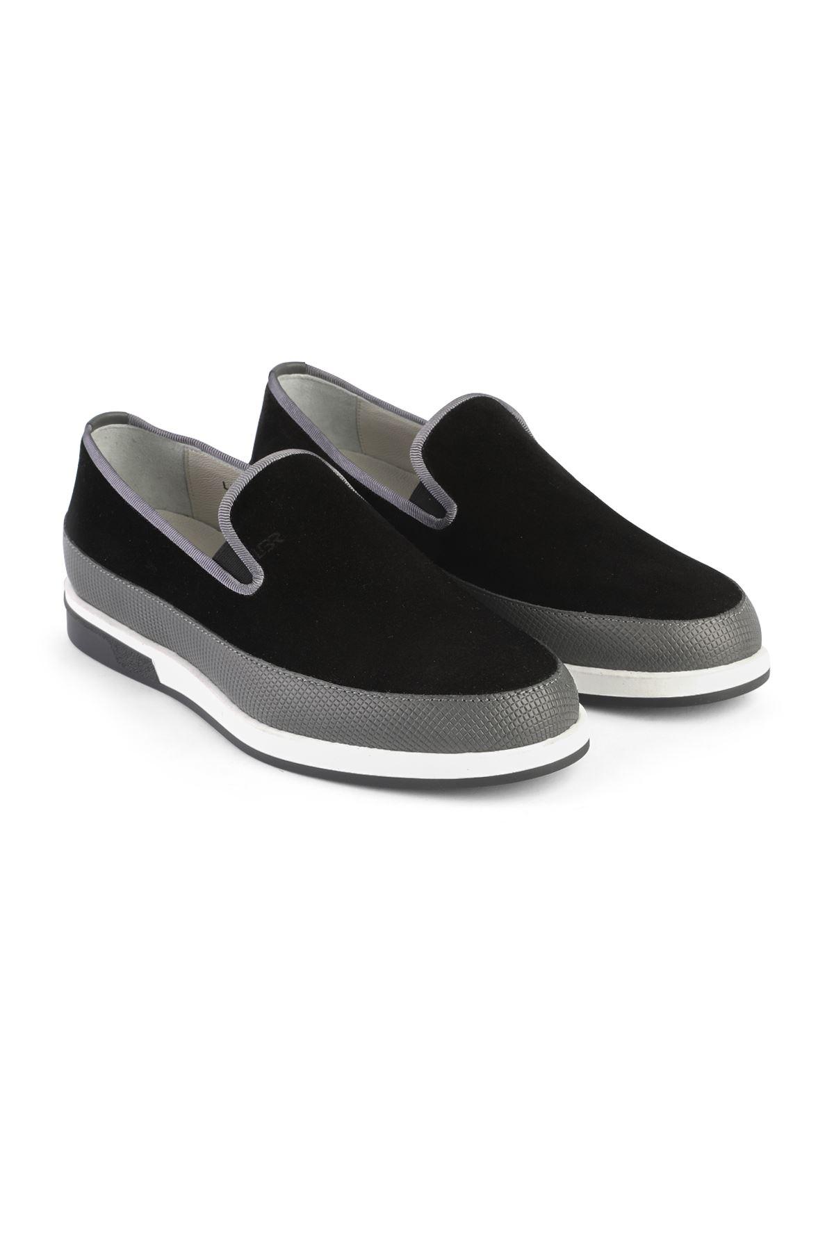 Libero 3368 Black Loafer Shoes