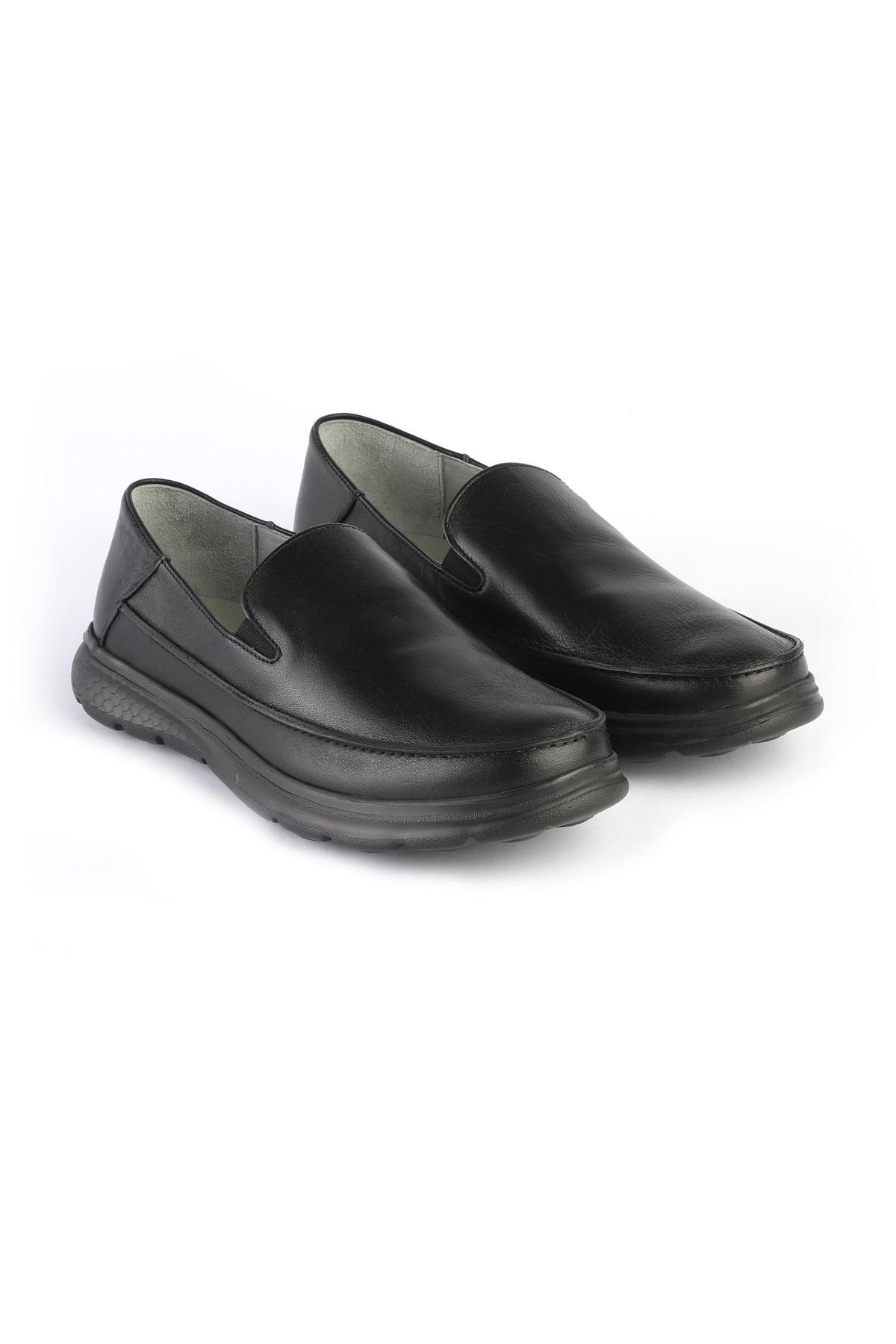 Libero 3223 Black Loafer Shoes