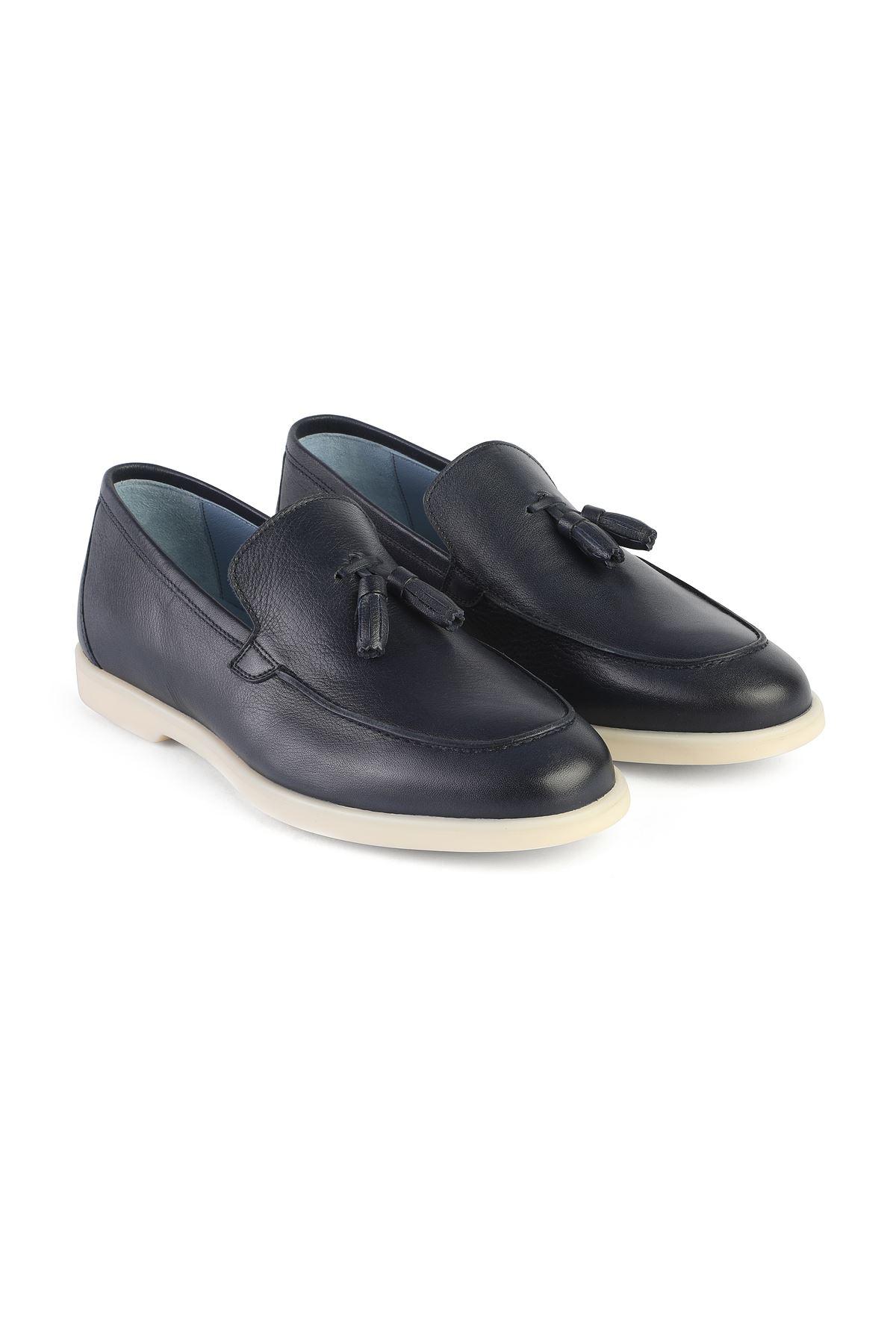 Libero 3219 Black Loafer Shoes