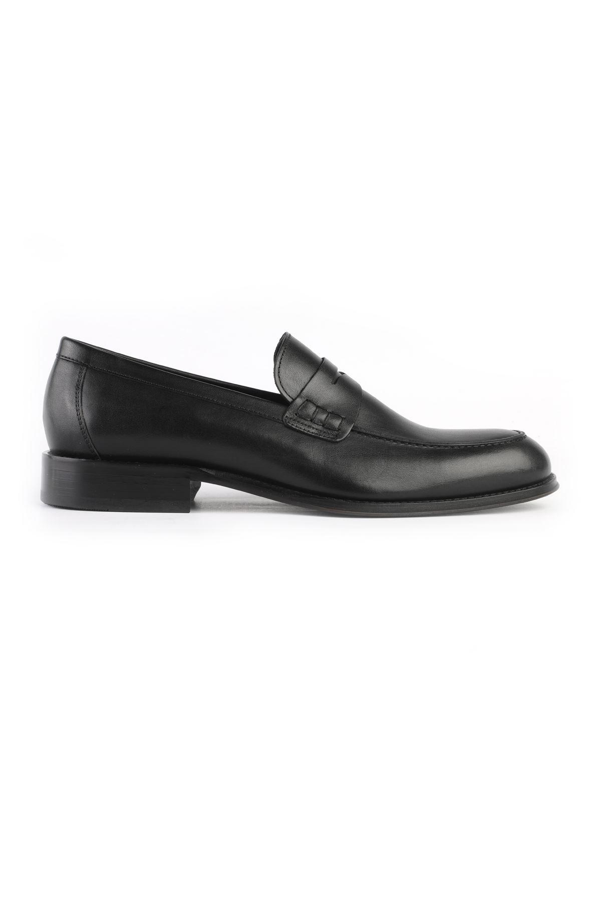 Libero 2402 Black Loafer Shoes