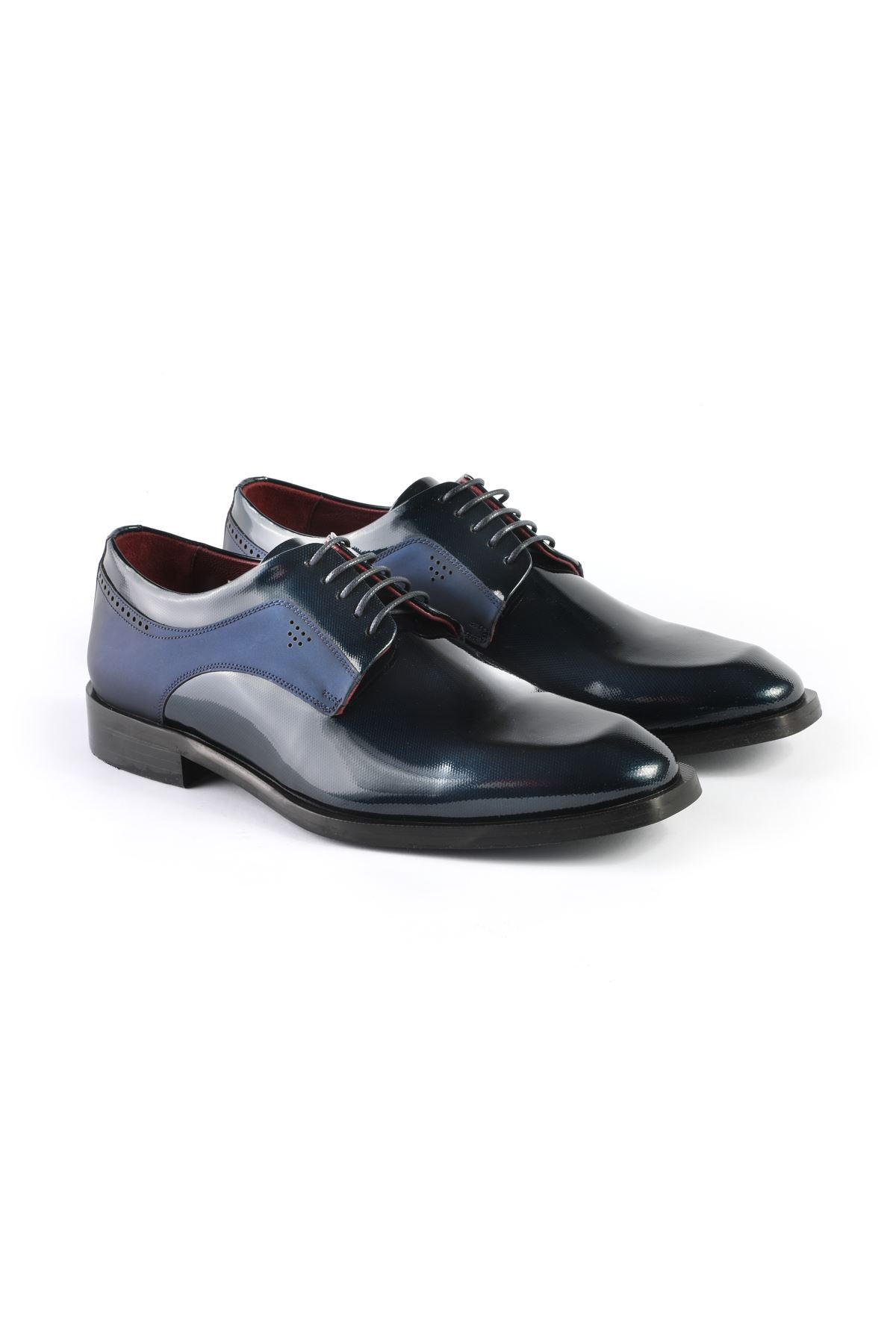 Libero L3252 Navy Blue Classic Shoes