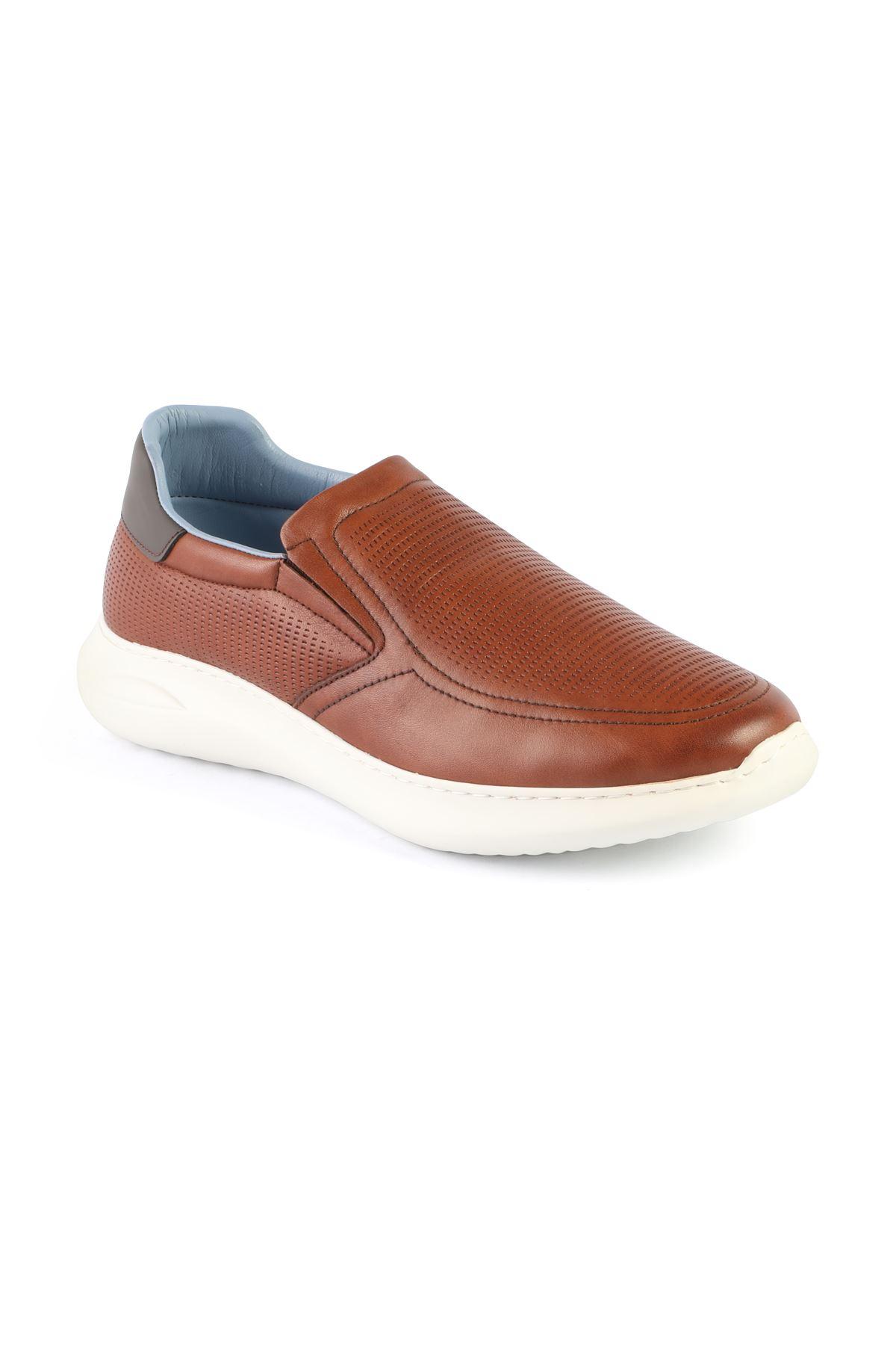 Libero L3413 Tan Sports Shoes