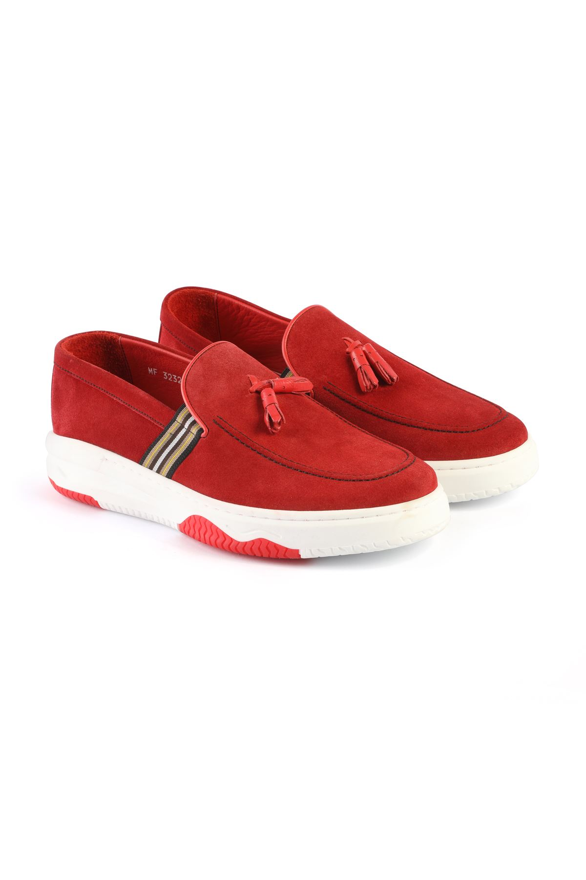 Libero L3232 Cream Loafer Shoes