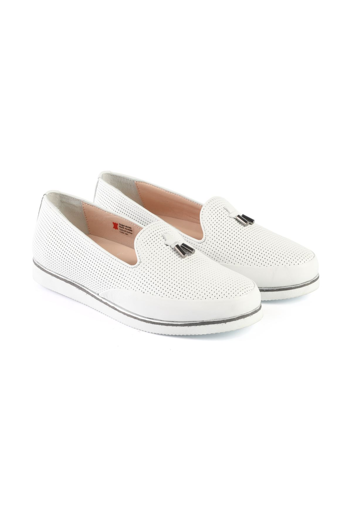 Libero AH8090 Beyaz Babet Ayakkabı