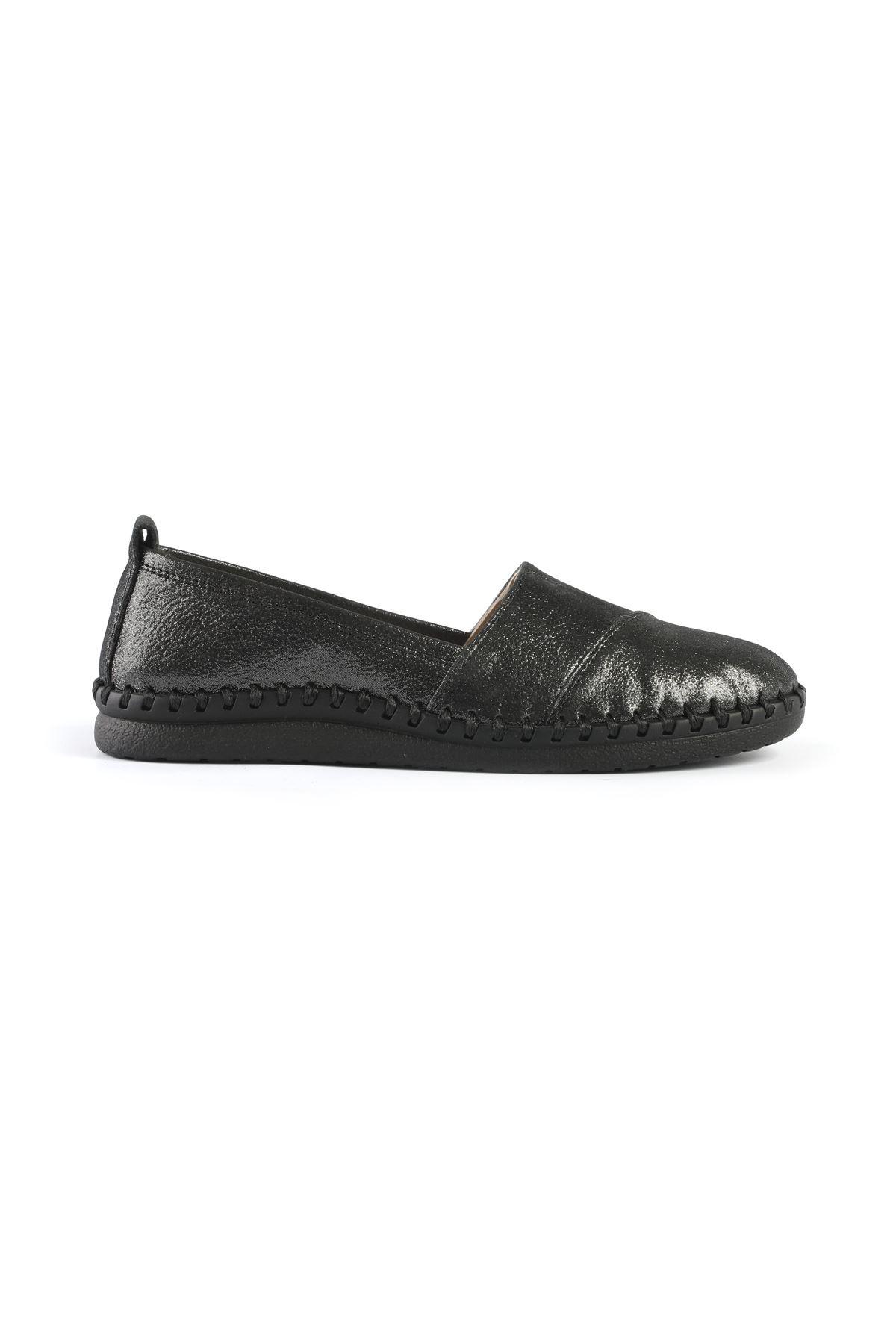 Libero AH6016 Siyah Babet Ayakkabı