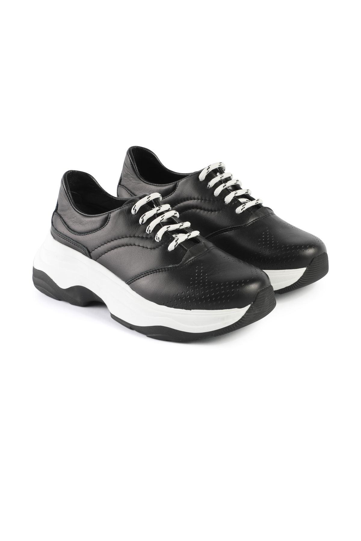 Libero AH019 Black Sports Shoes
