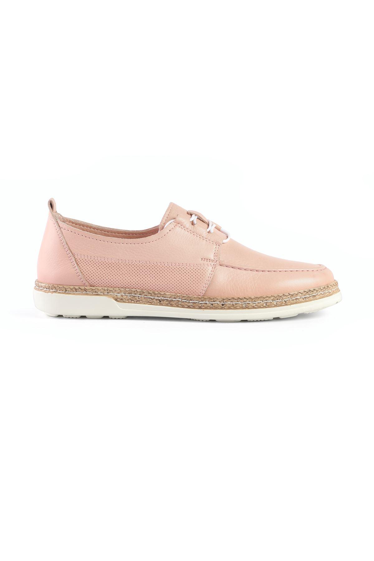 Libero LZ3433 Pudra Bayan Babet Ayakkabı