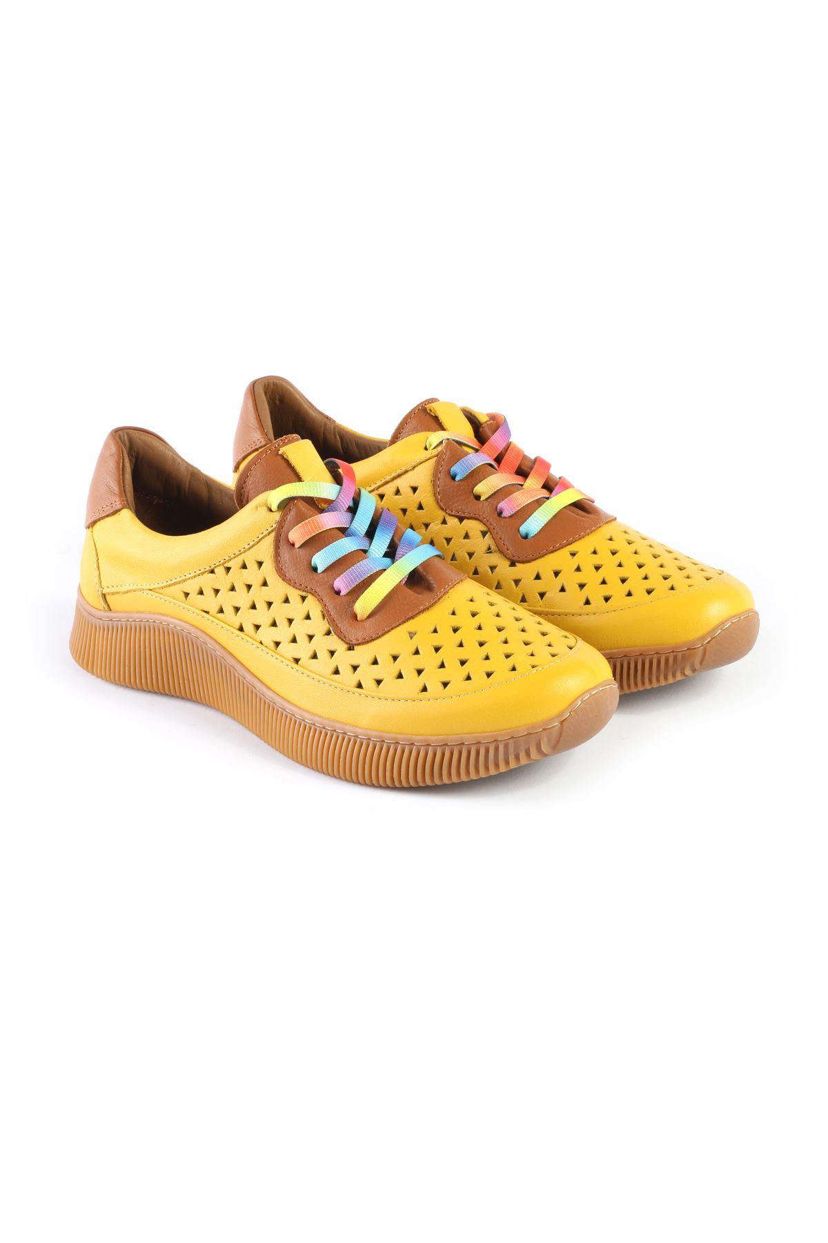 Libero MS3532 Sarı Spor Ayakkabı